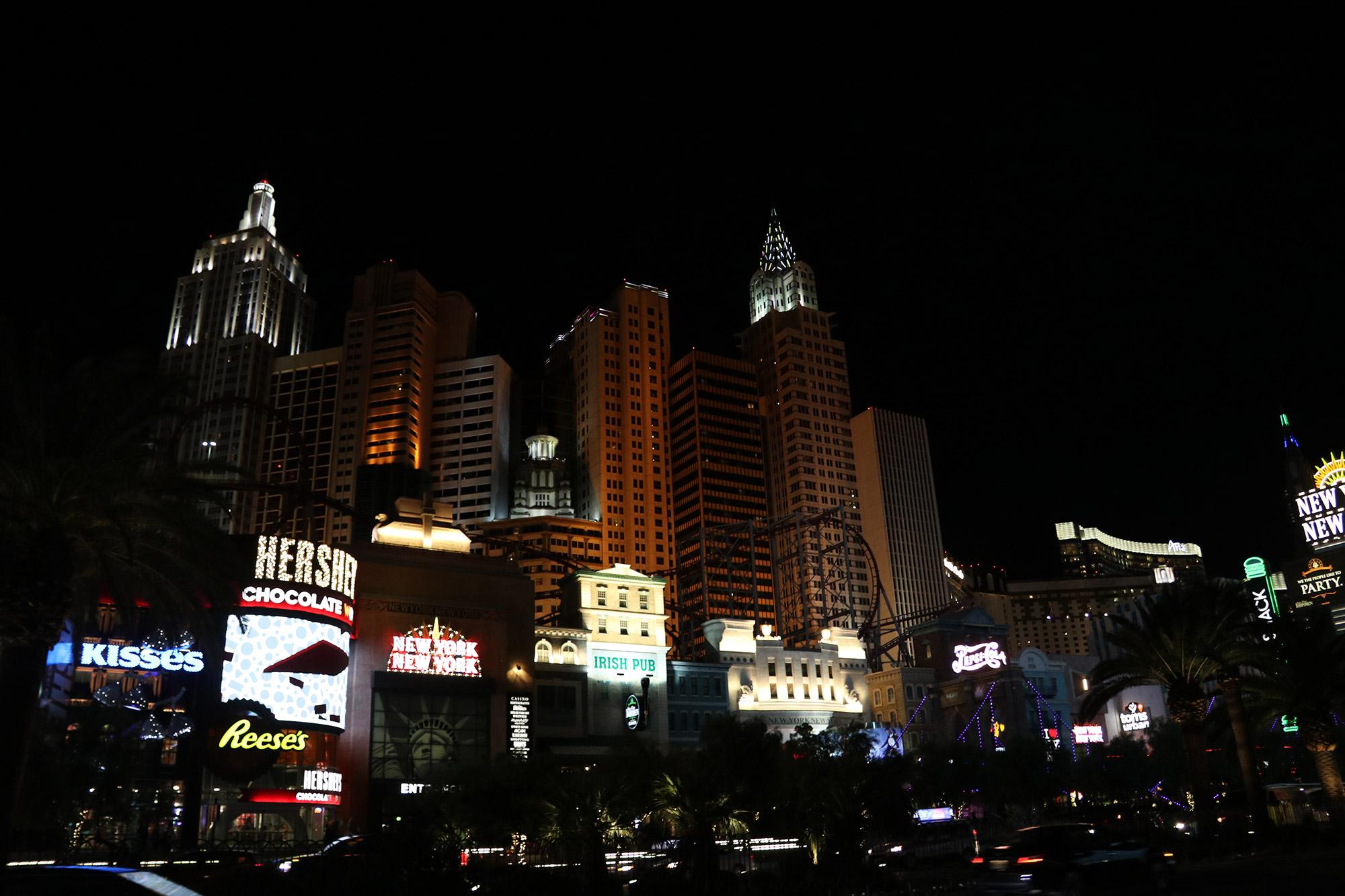 Amerika dag 17 - Las Vegas - New York, New York