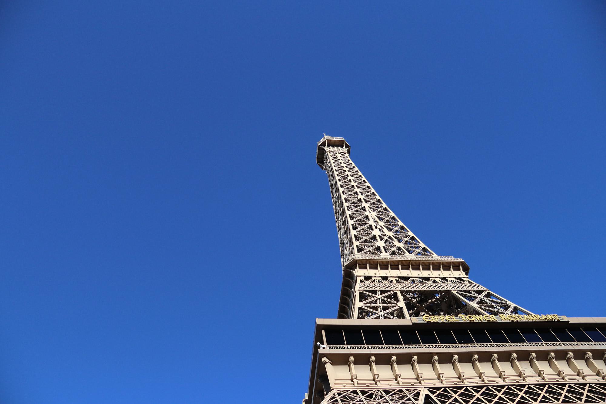 Amerika dag 17 - Las Vegas - Paris
