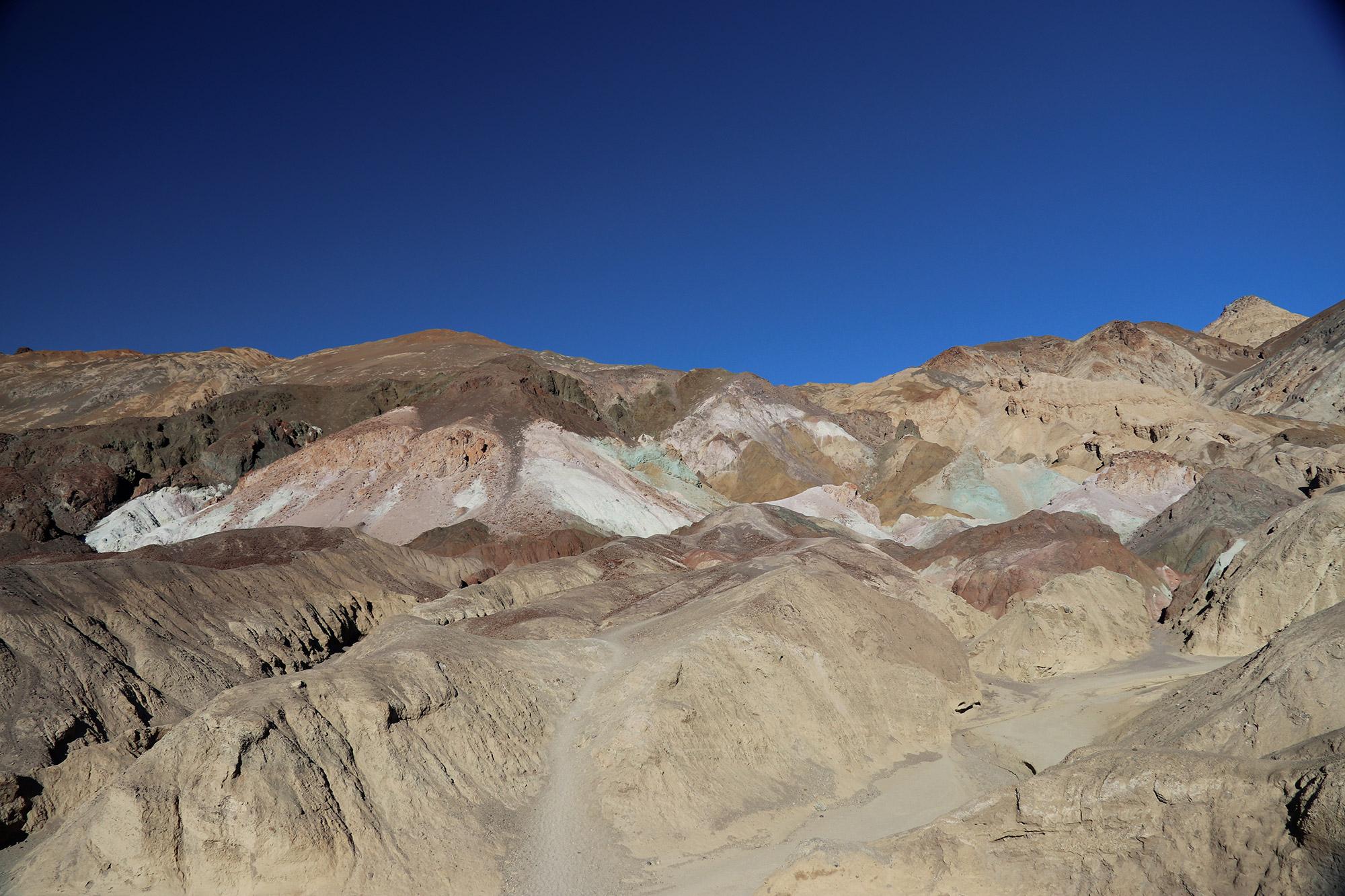Amerika dag 18 - Death Valley National Park - Artists Palette