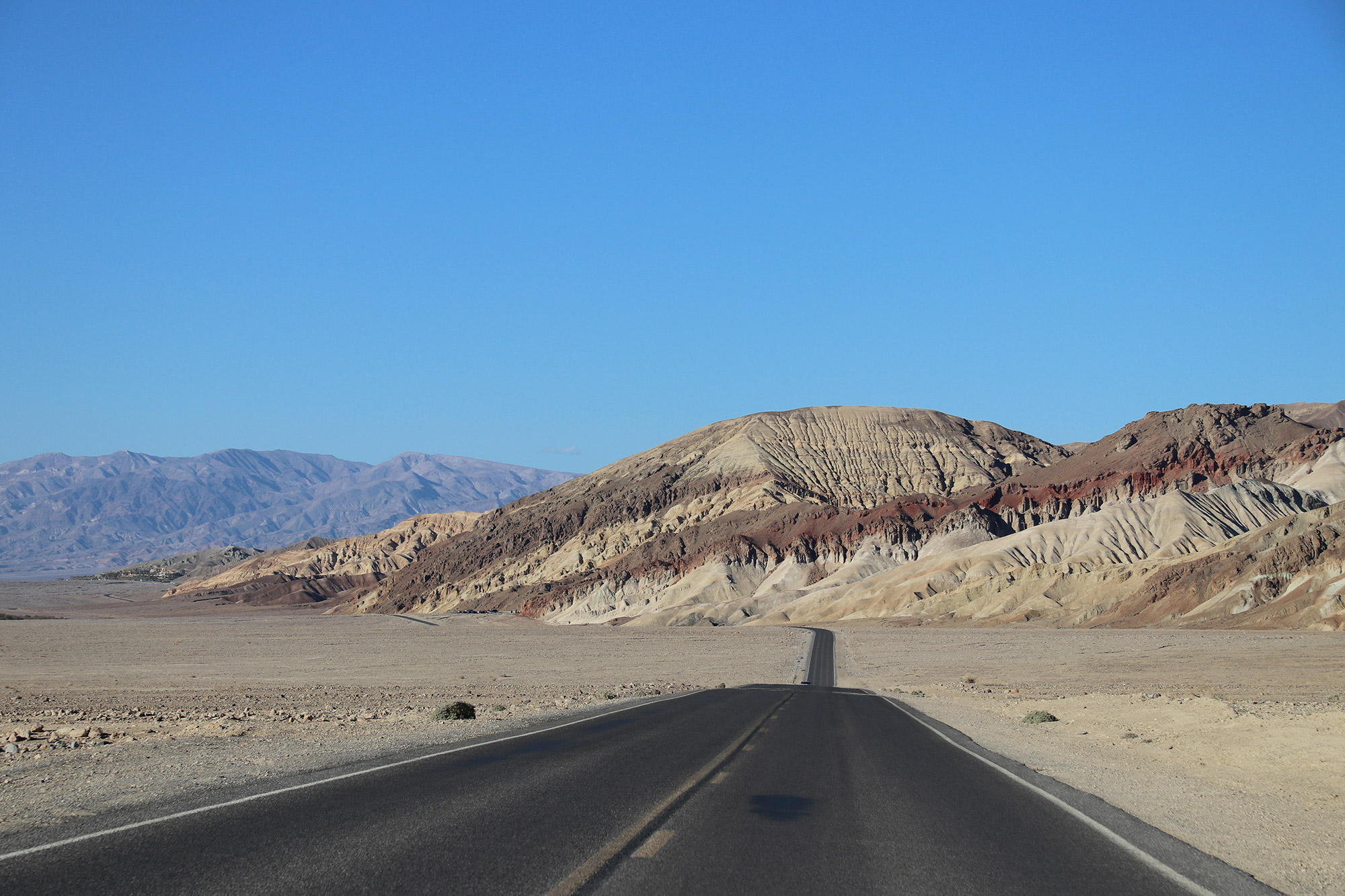 Amerika dag 18 - Death Valley National Park - Badwater Road