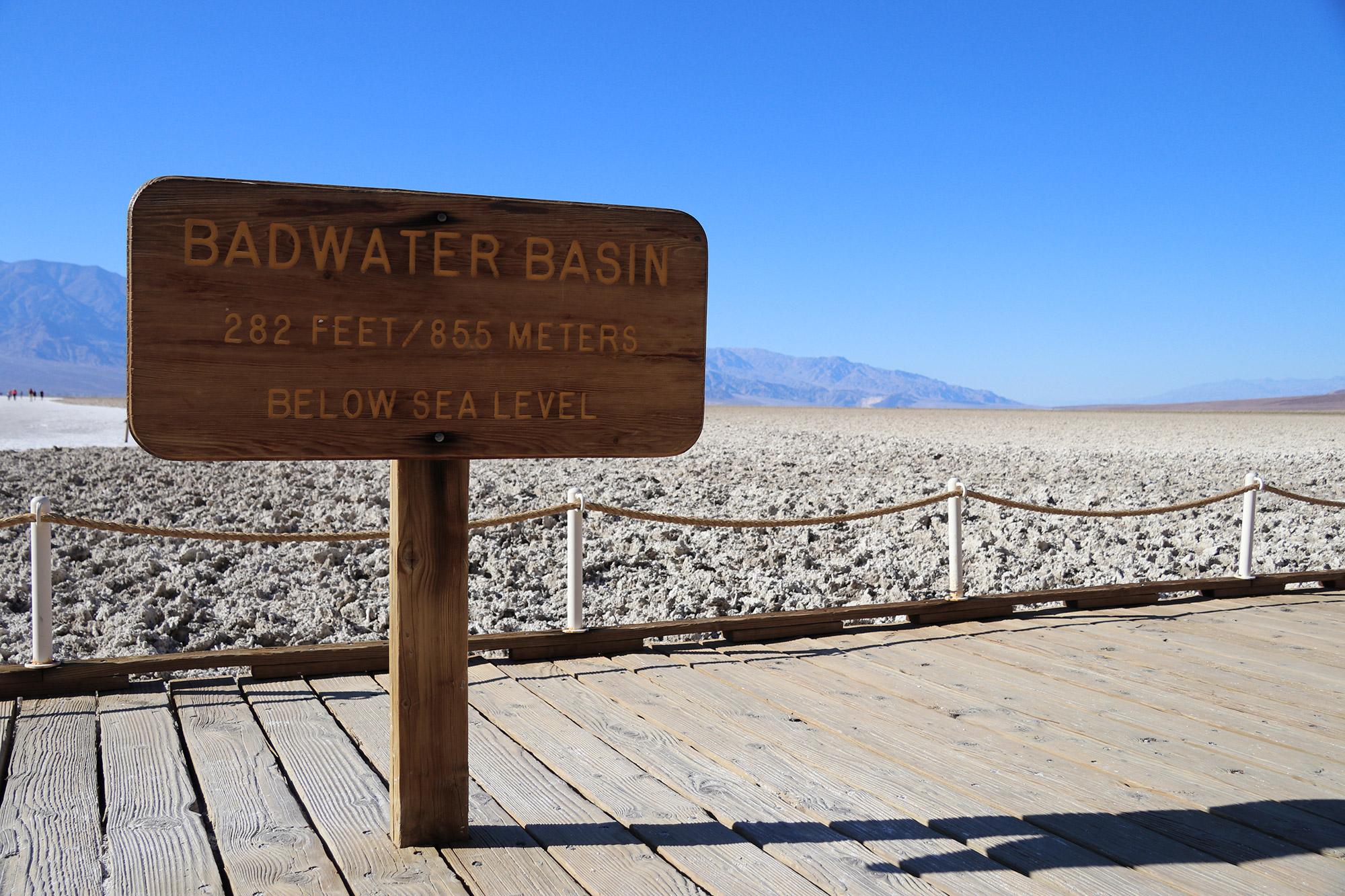 Amerika dag 18 - Death Valley National Park - Badwater