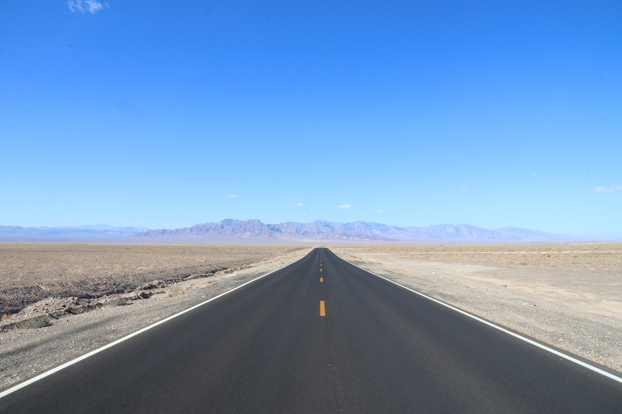 Amerika dag 18 - Onderweg naar Death Valley National Park
