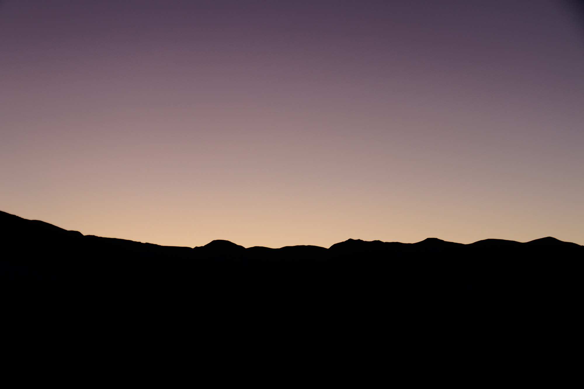 Amerika dag 18 - Death Valley National Park - Zonsonergang