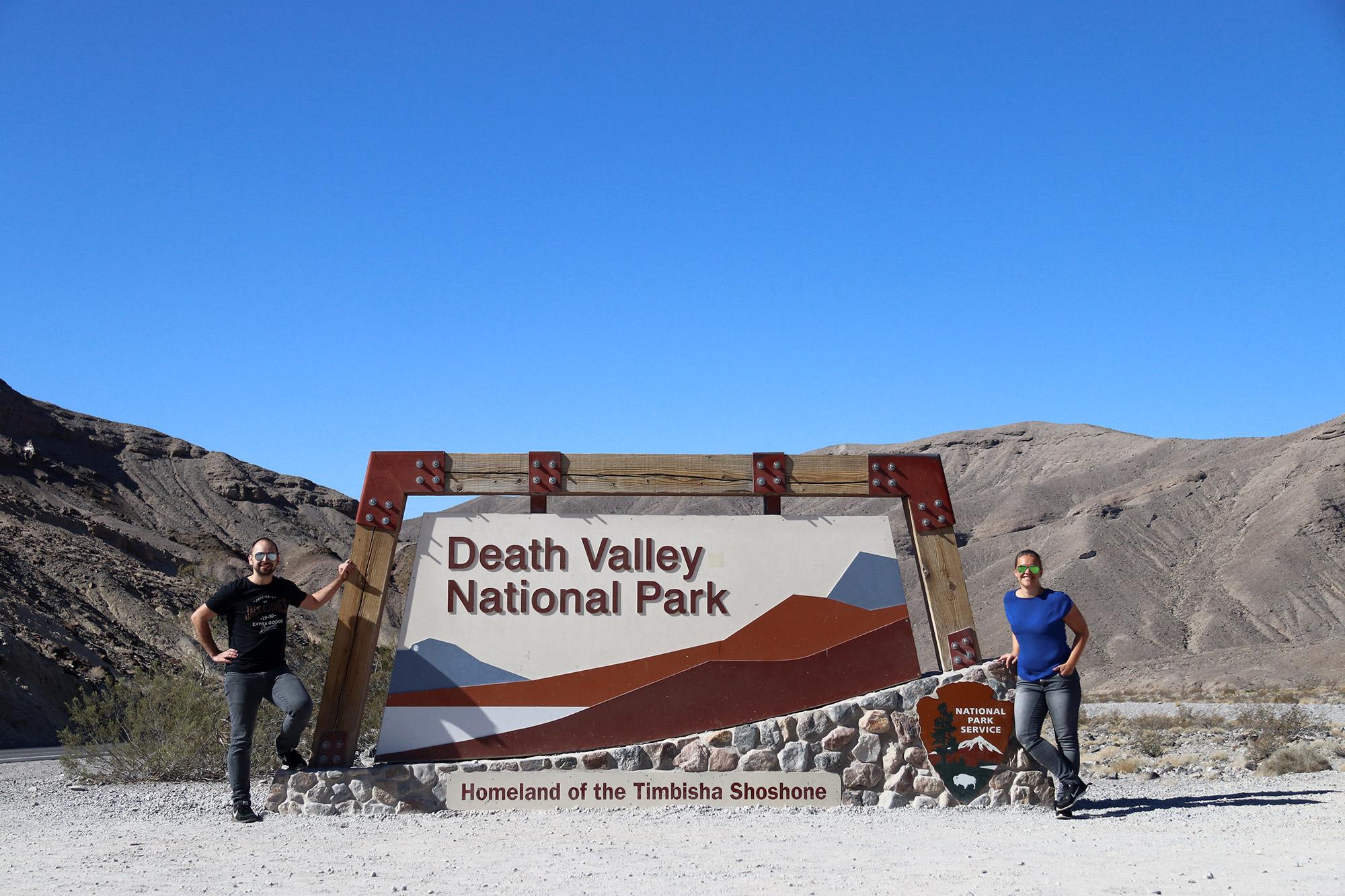 Amerika dag 18 - Death Valley National Park