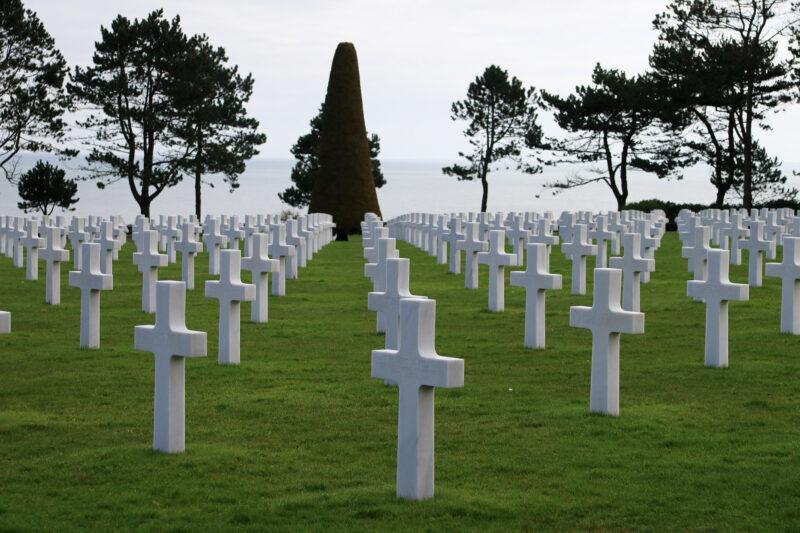 Foto van de maand maart 2018 - Normandy American Cemetary and Memorial in Frankrijk