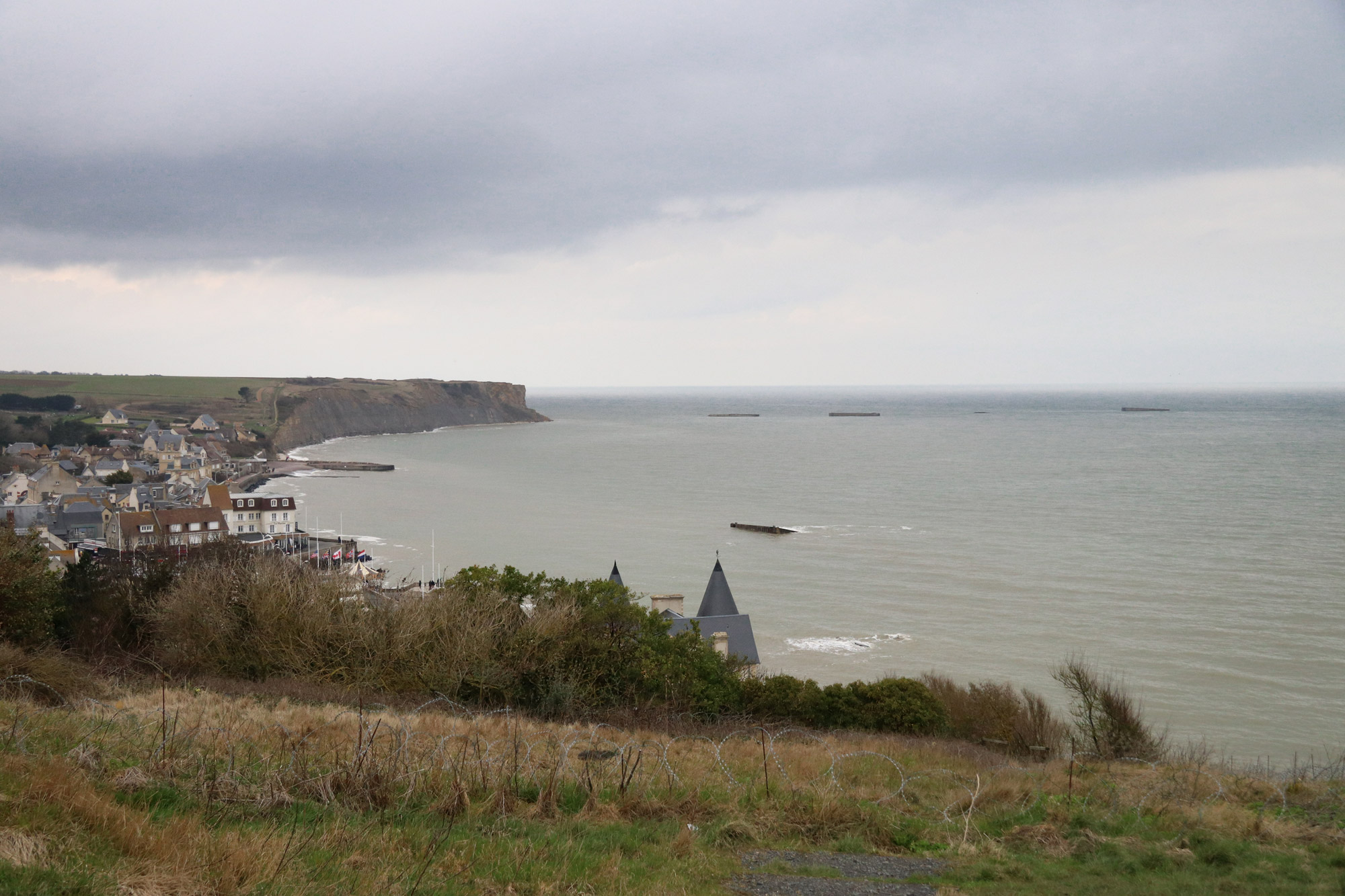 Fotoverslag Normandië - Arromanches