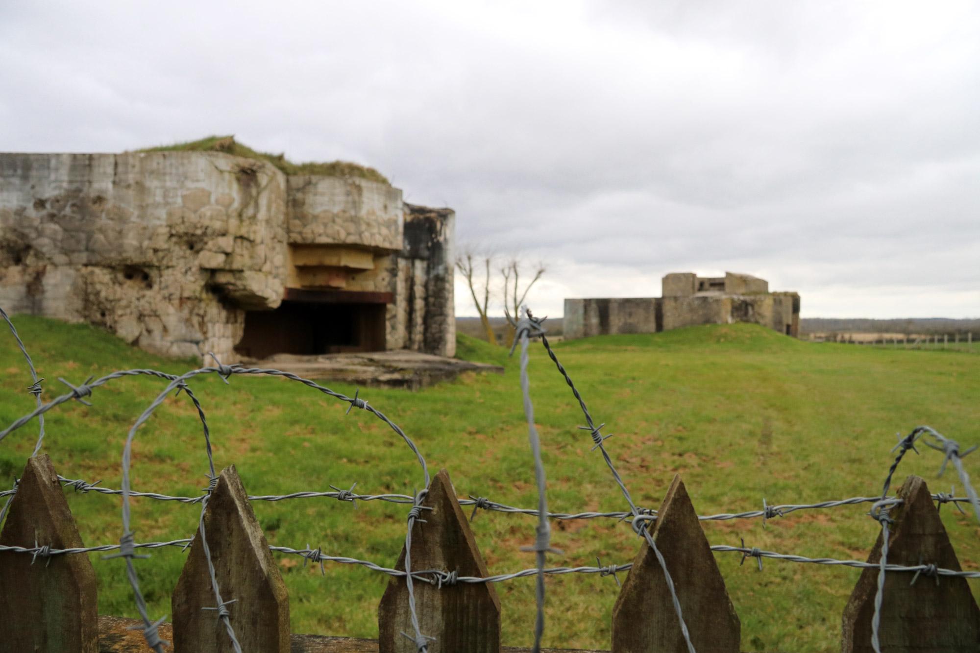 Fotoverslag Normandië - Batterie Azeville