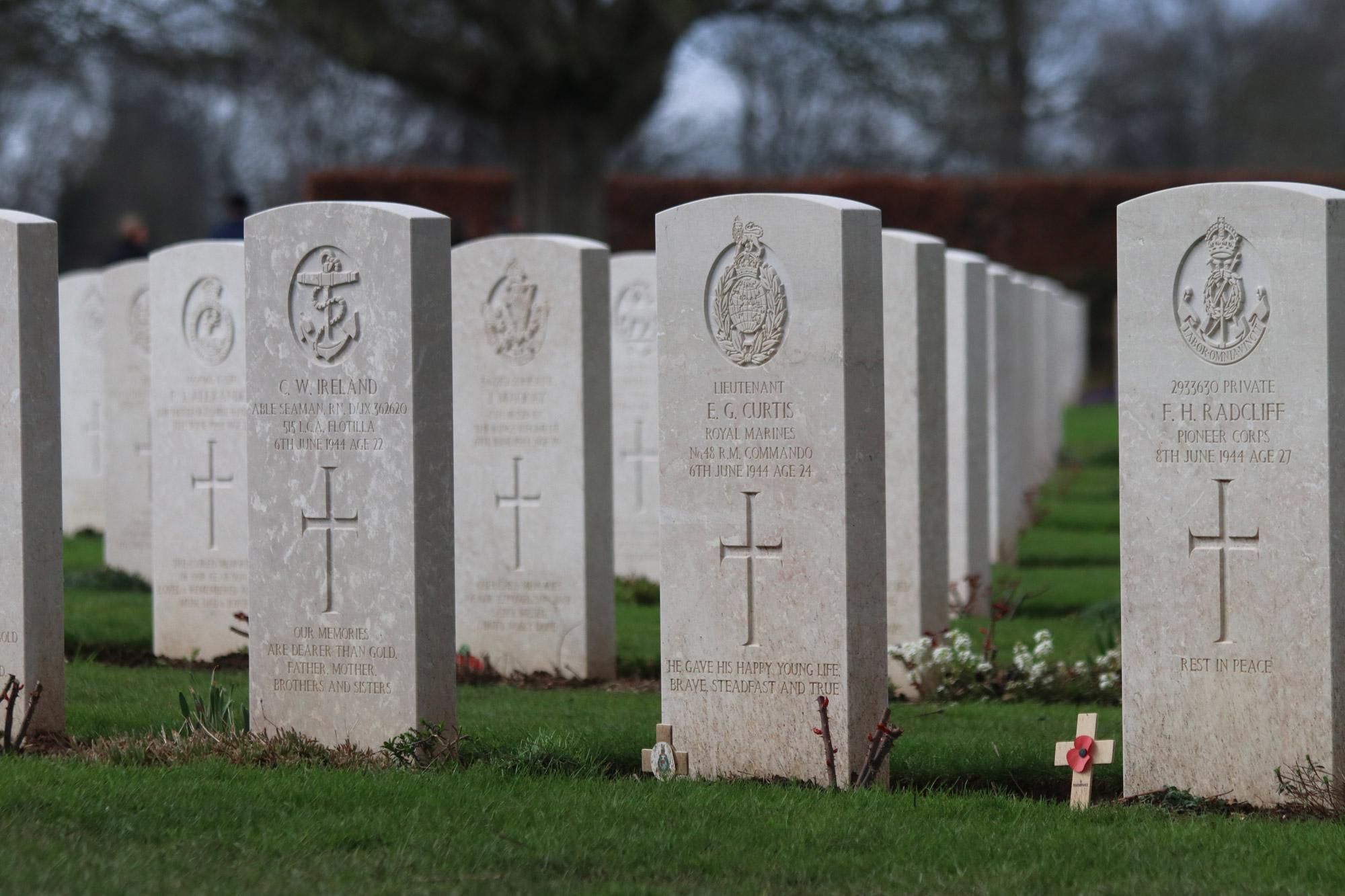 Fotoverslag Normandië - Bayeux War Cemetery