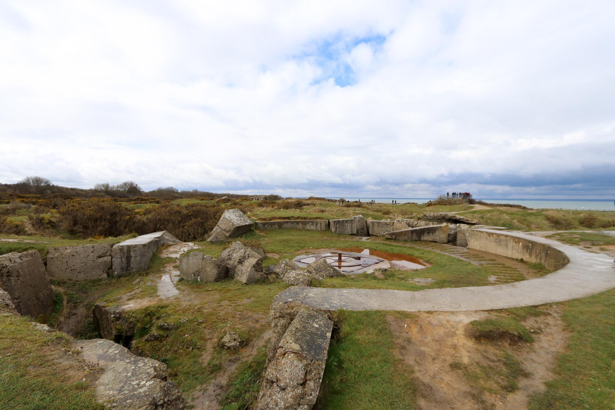 Fotoverslag Normandië - Pointe du Hoc
