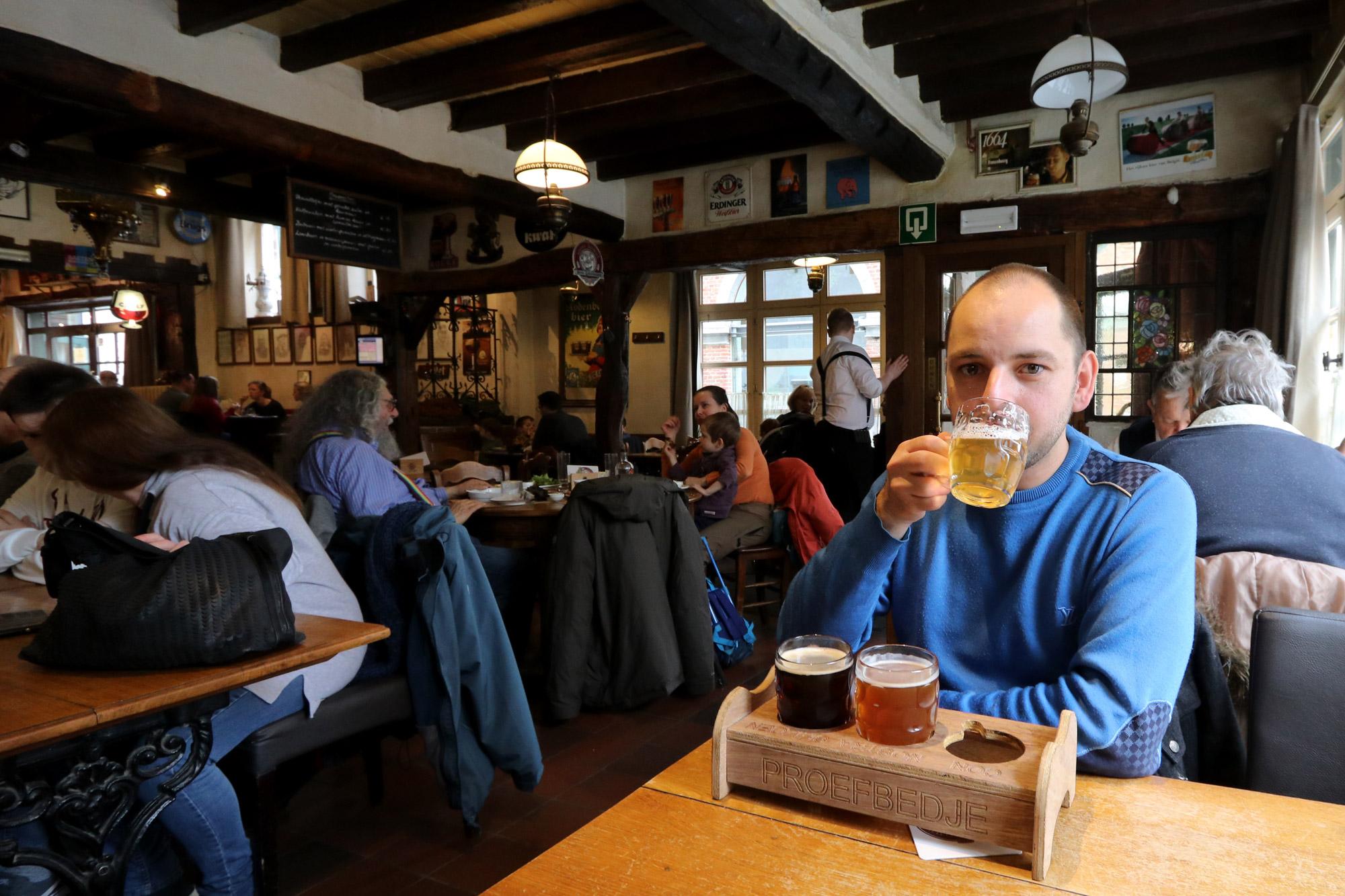 5 leukste biercafés in Leuven - Huisbrouwerij Domus
