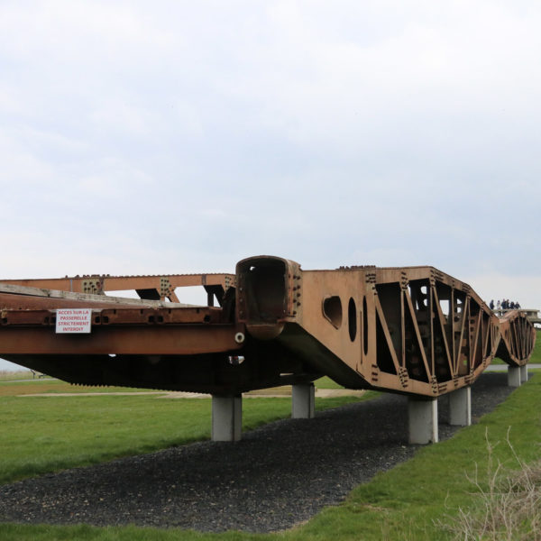 De kunstmatige haven van Arromanches-les-Bains - Monument