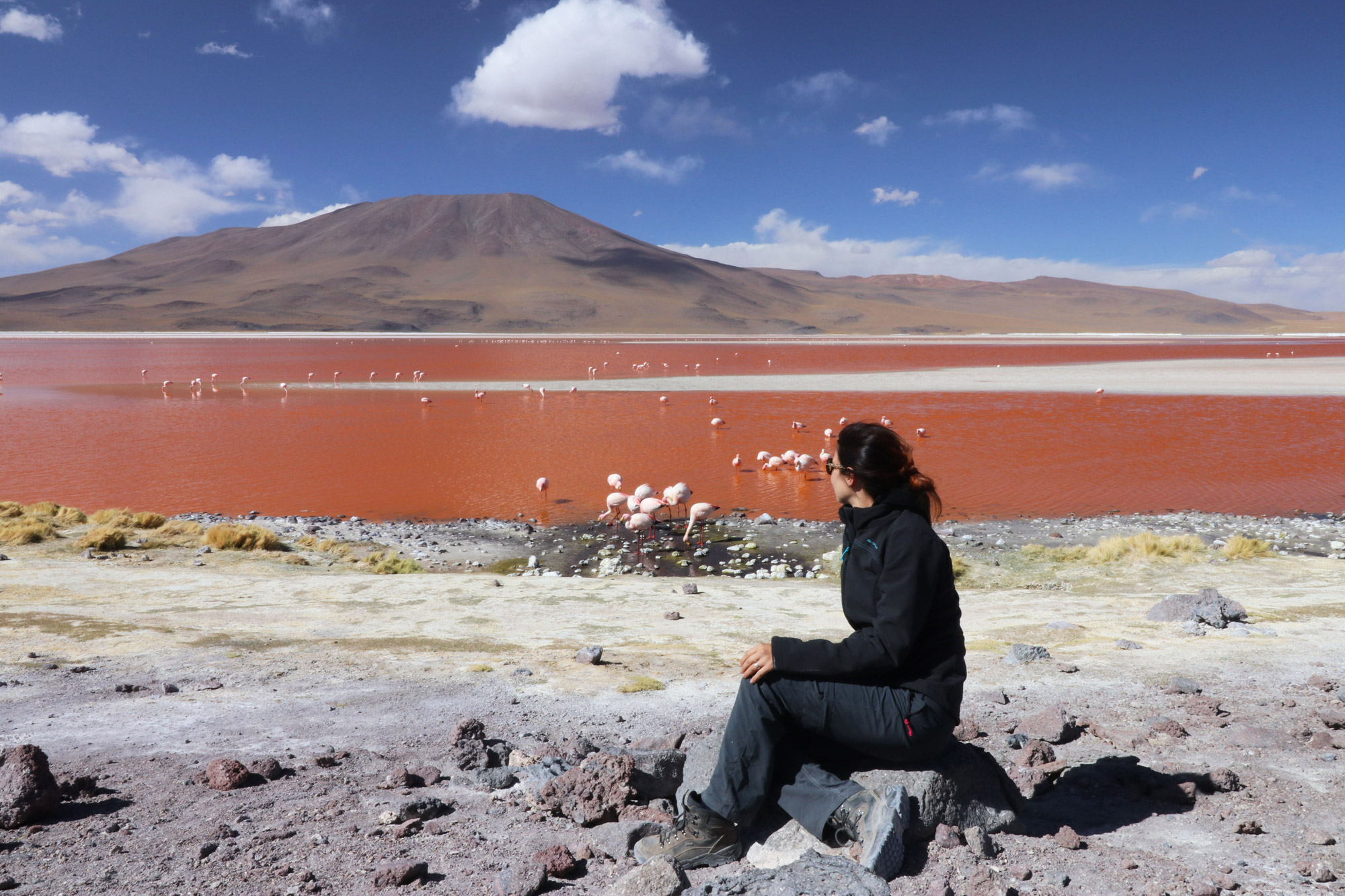 Noreen - Bolivia - Laguna Colorada