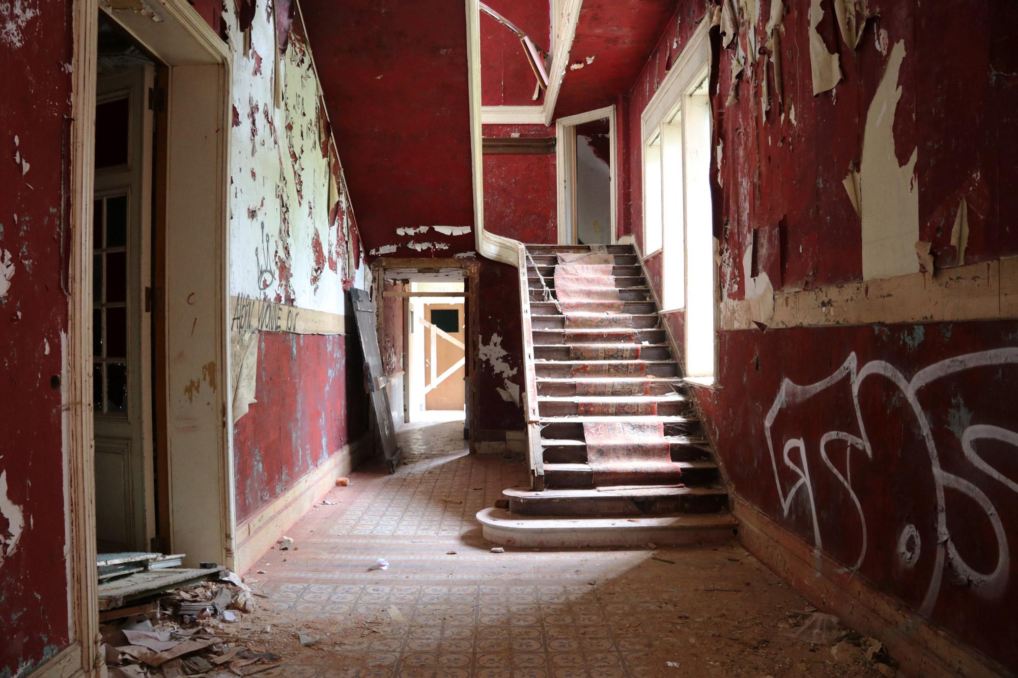 Urbex - Chateau Rouge