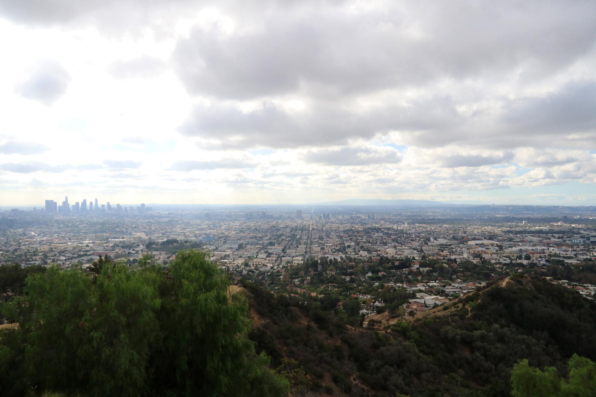 Amerika dag 21 - Uitzicht op Los Angeles vanaf de Griffith Observatory