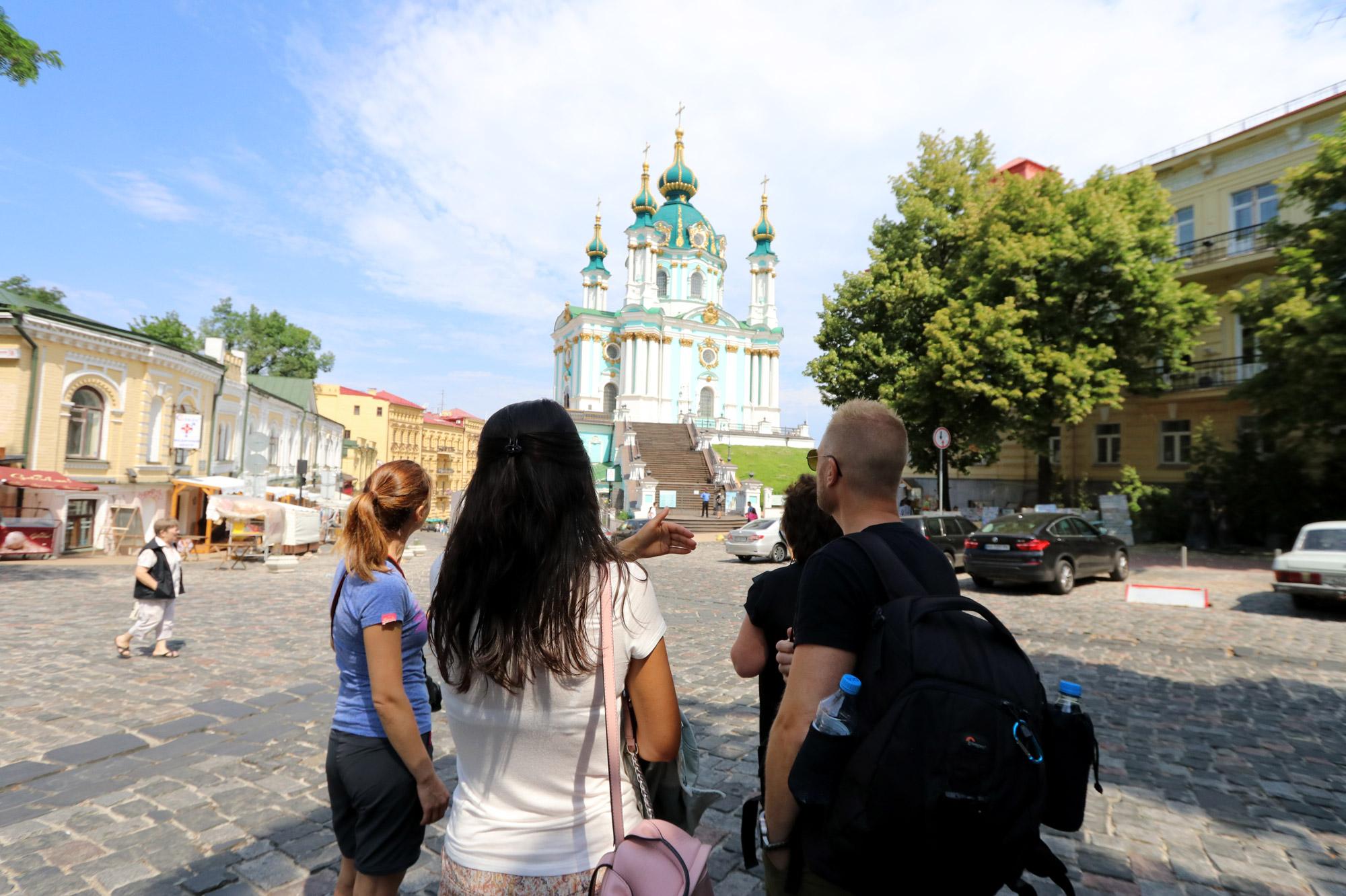 Kiev verkennen met een gids