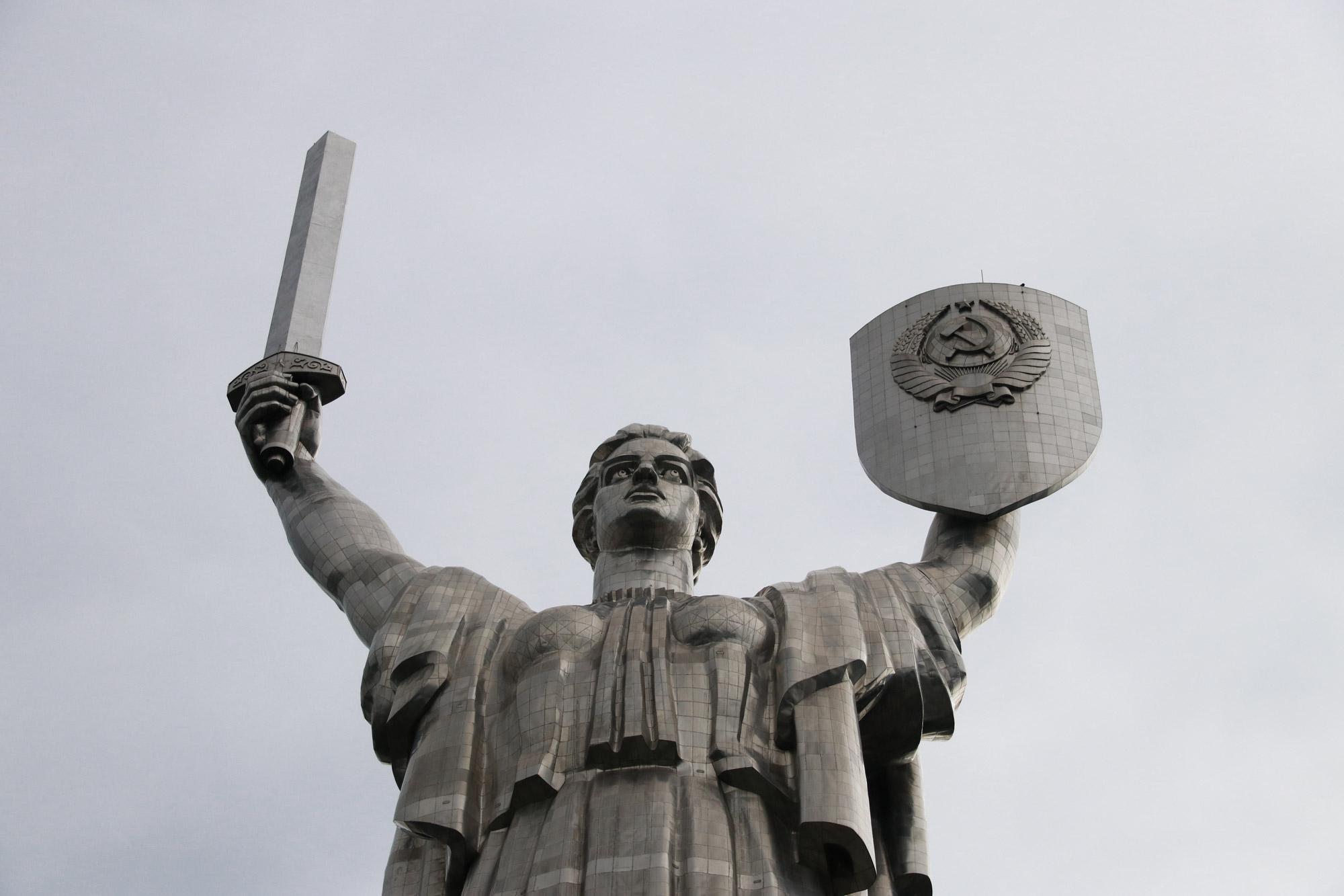 Kiev verkennen met een gids - Motherland Monument