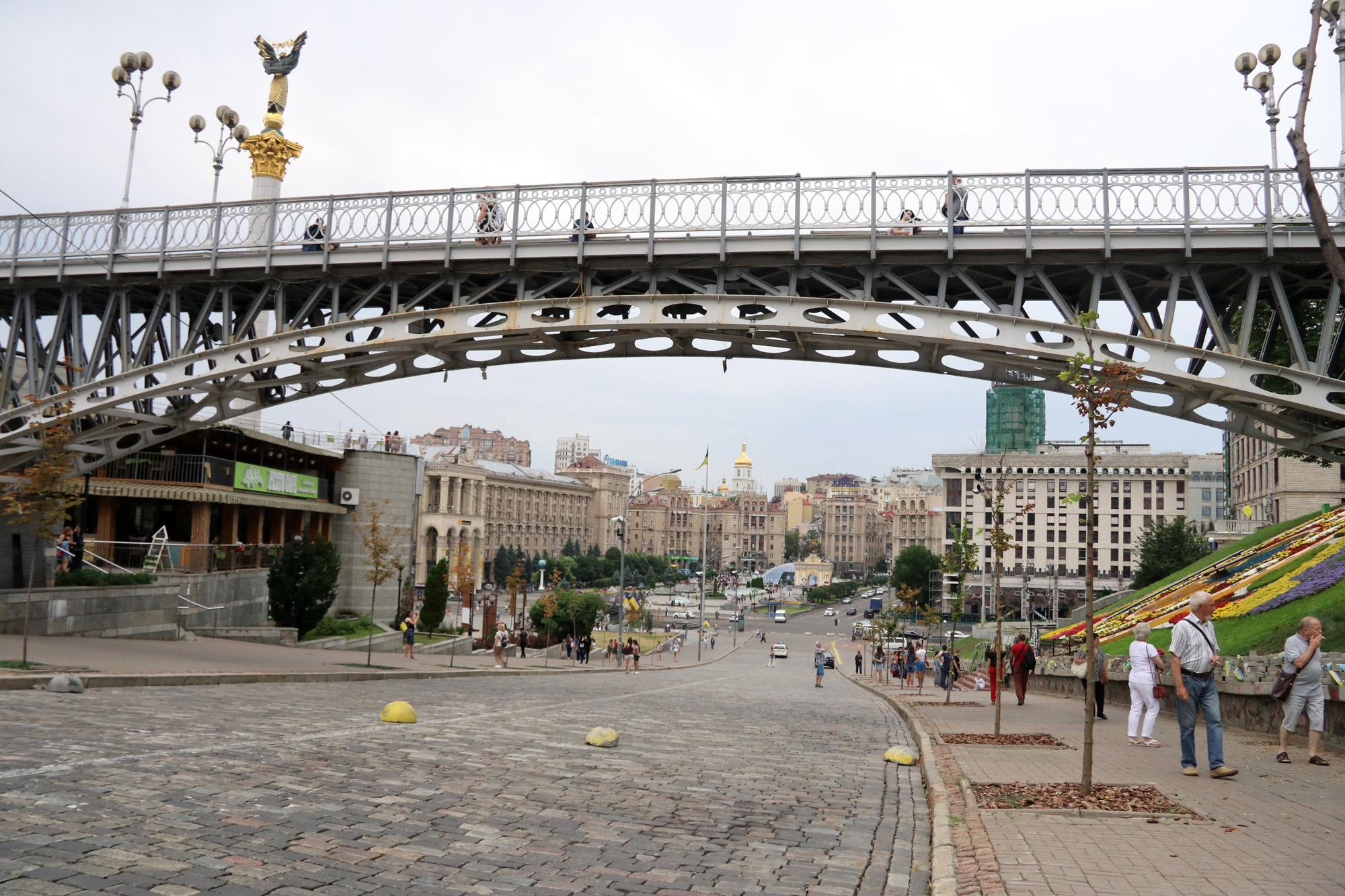 Kiev verkennen met een gids - Plein van de Onafhankelijkheid
