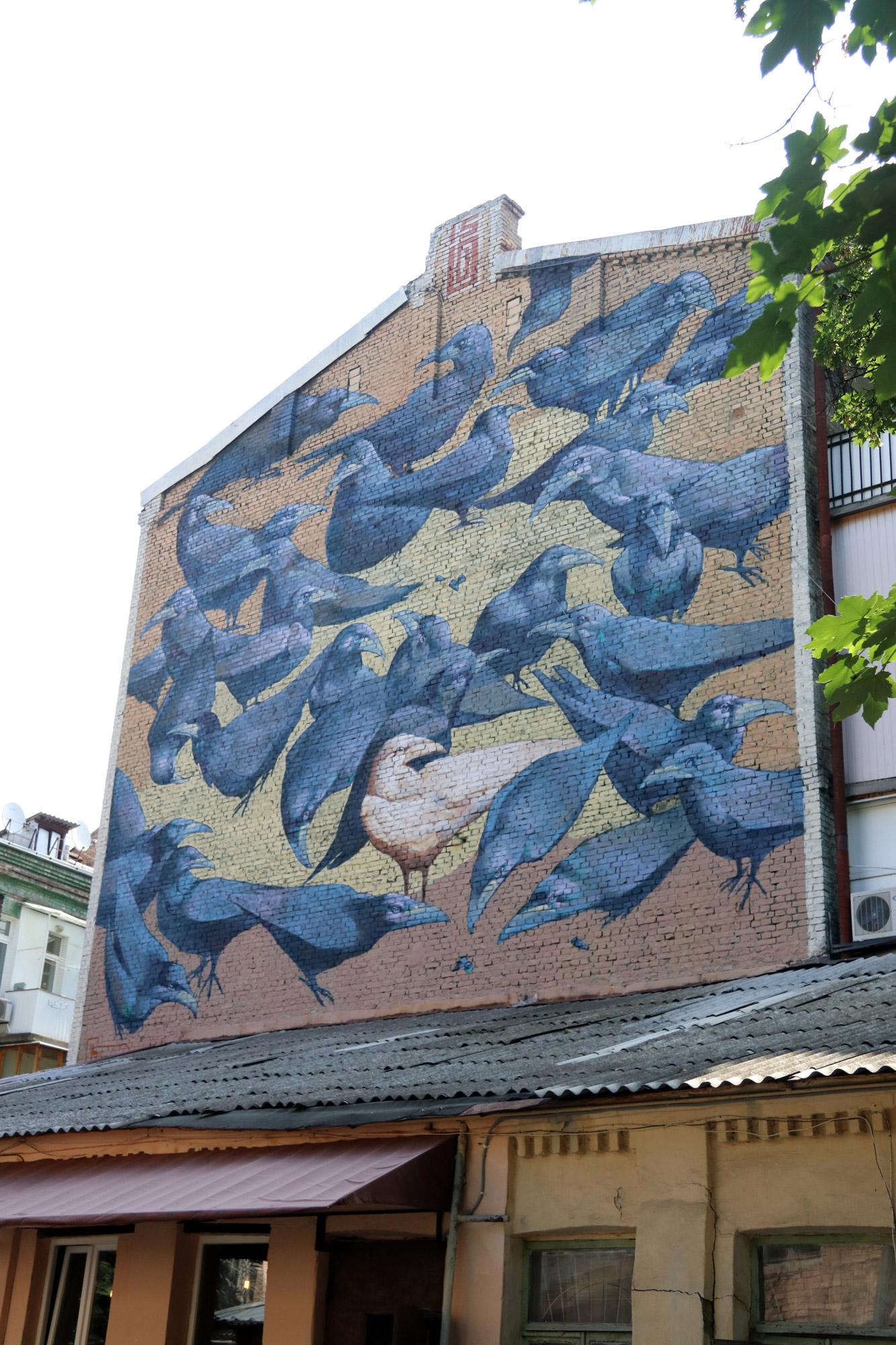 Kiev verkennen met een gids - Streetart