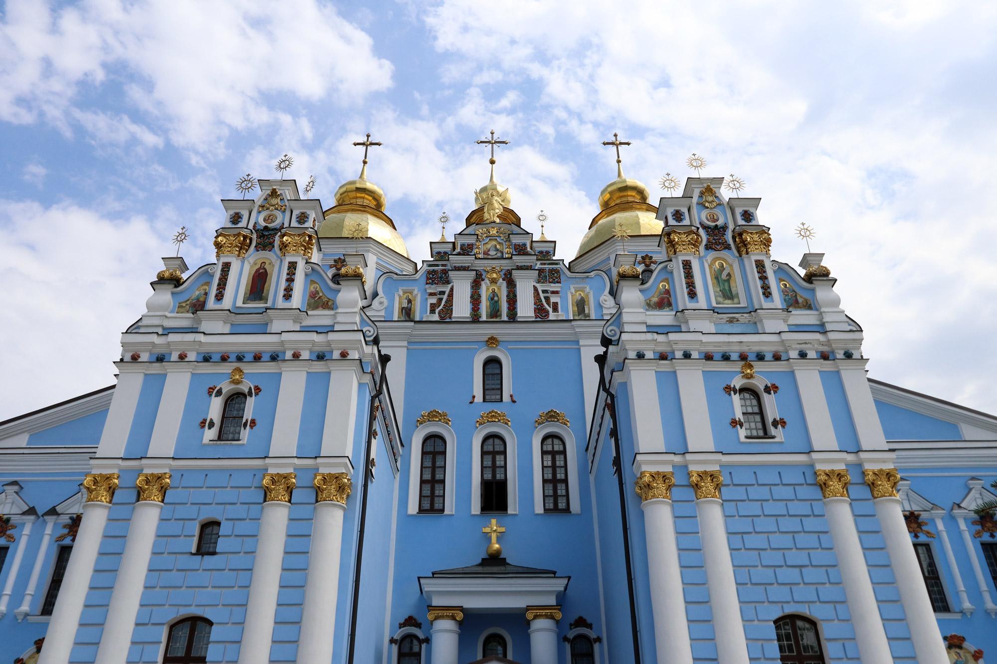 Kiev verkennen met een gids - Sint-Michielsklooster