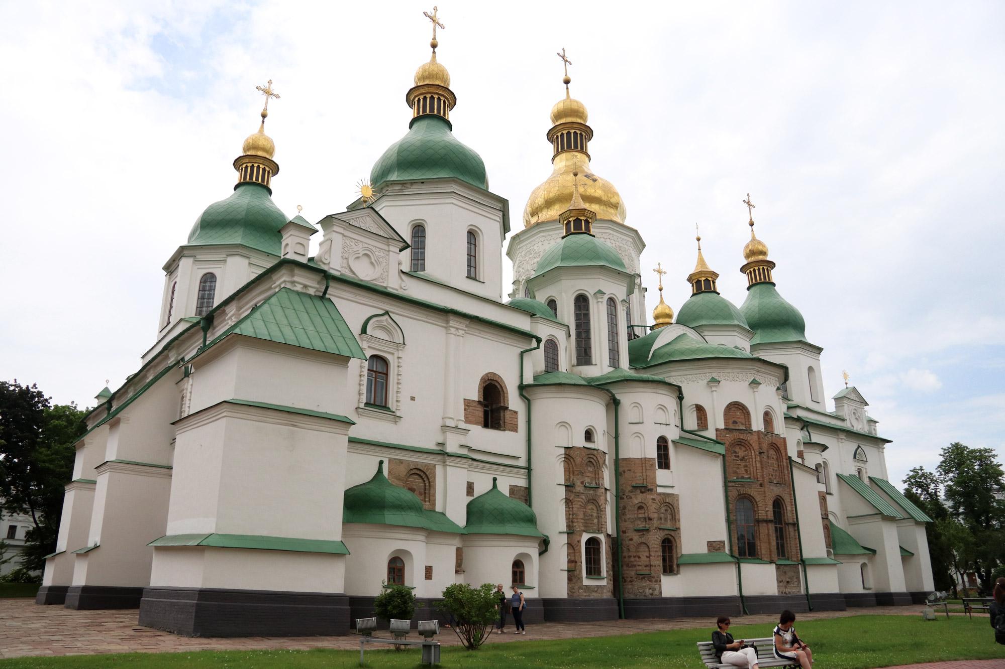 Kiev verkennen met een gids - Sint-Sofiekathedraal