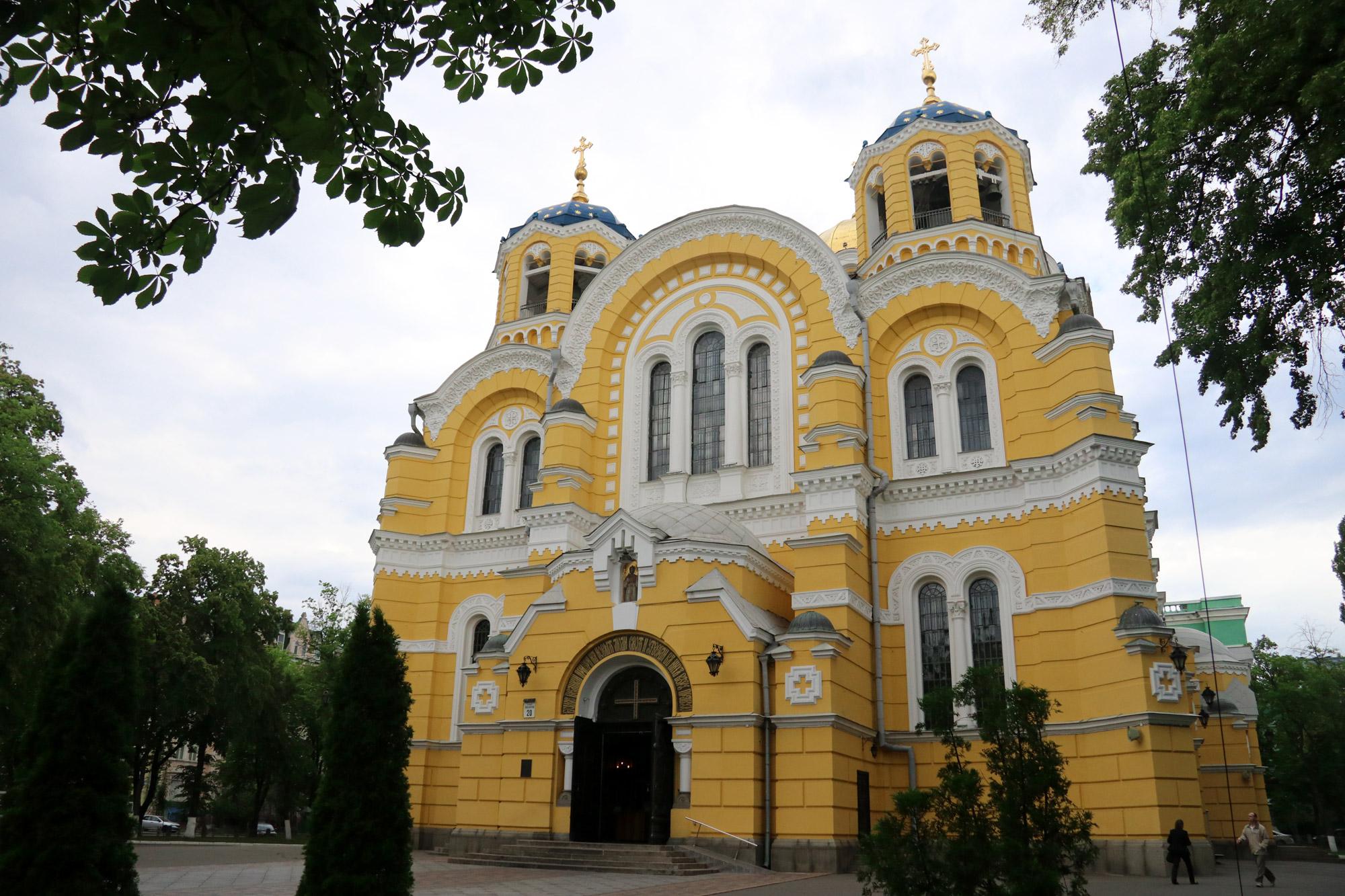 Kiev verkennen met een gids - Vladimirkathedraal