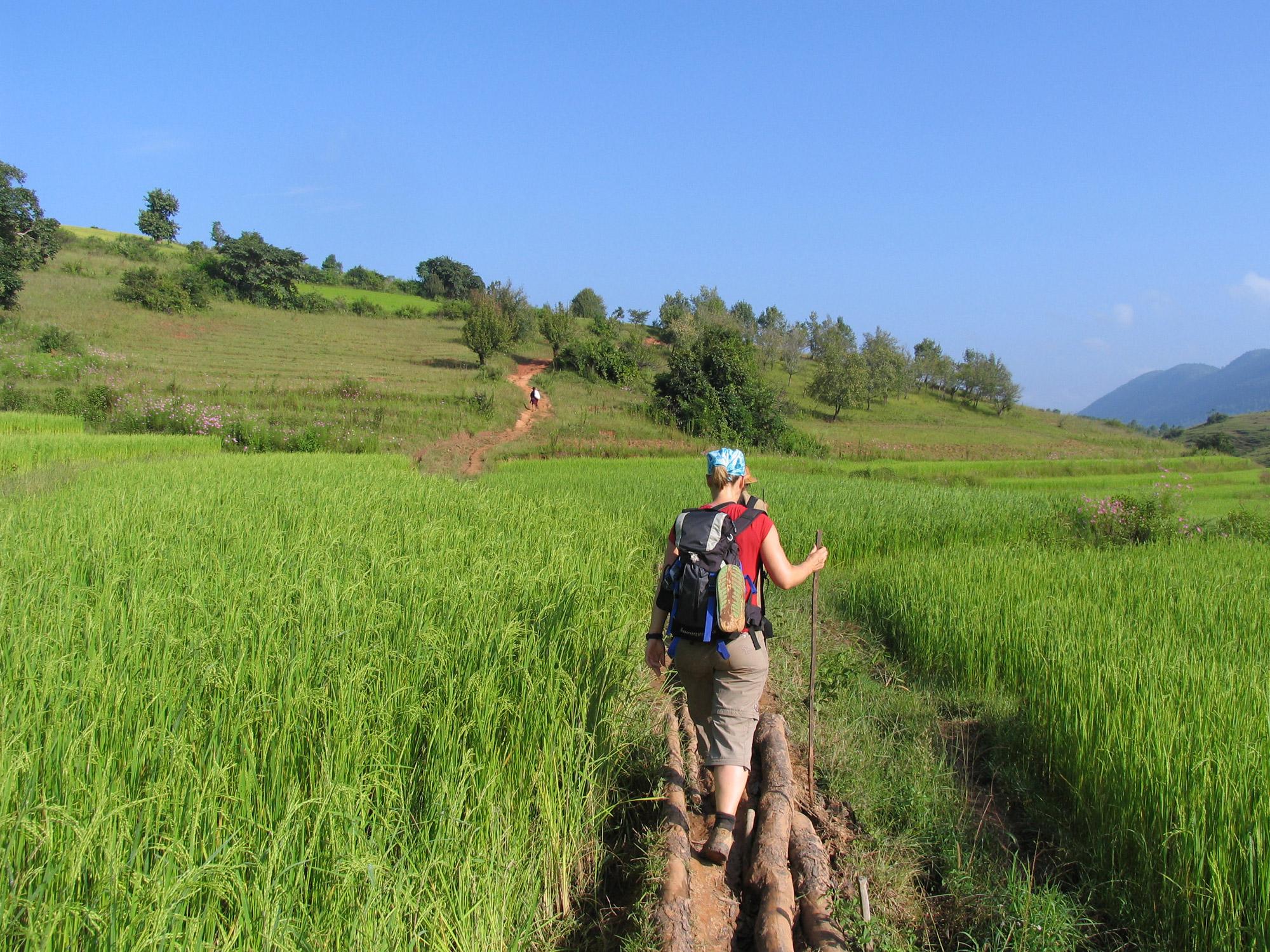 Paulien - Kalaw Trekking in Myanmar
