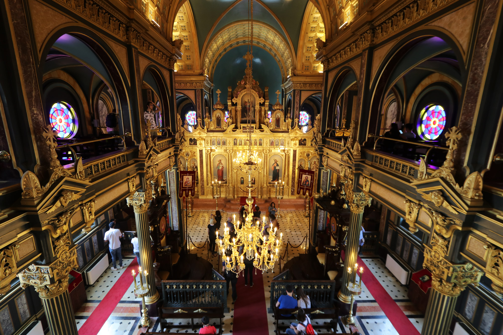 Stedentrip Istanbul - Bulgaarse Orthodoxe kerk