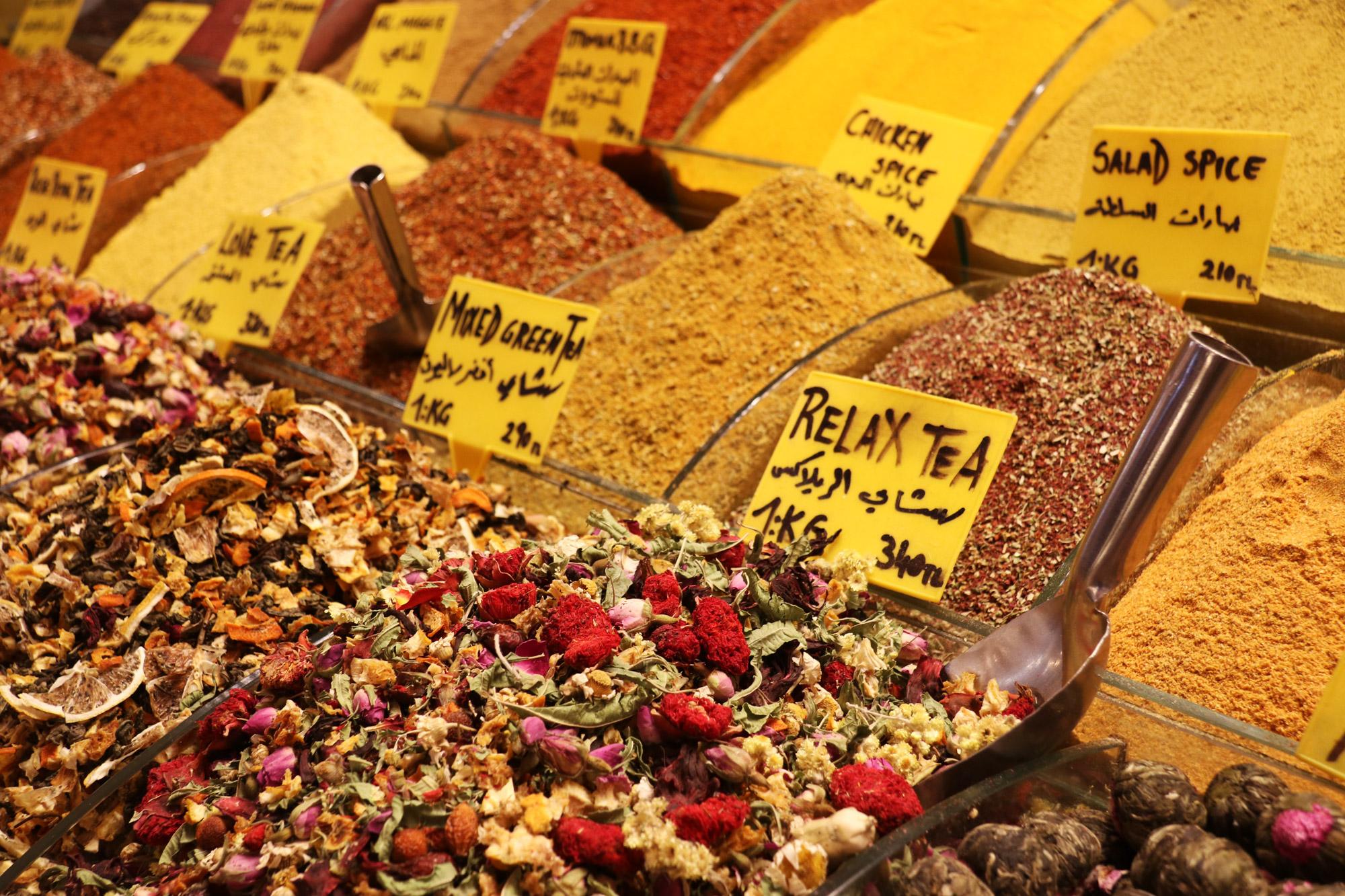 Stedentrip Istanbul - Thee bij de Grote Bazaar