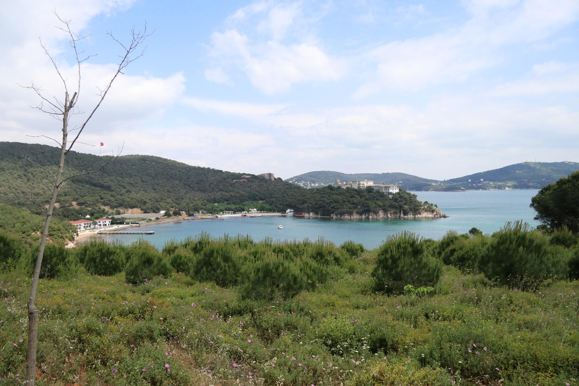 Stedentrip Istanbul - Uitzicht tijdens de lunch op Heybeliada