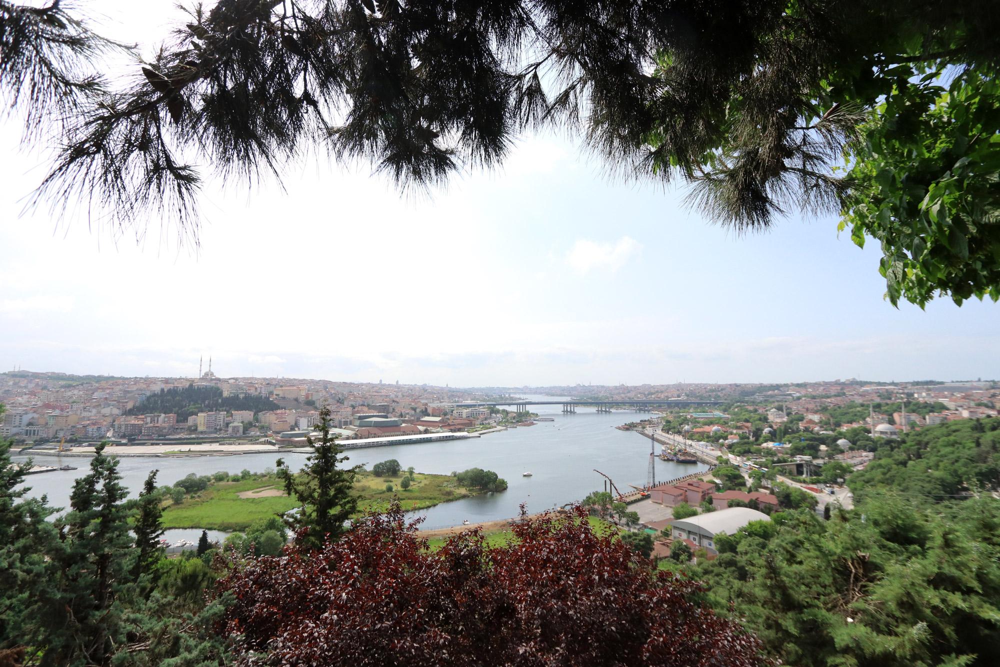 Stedentrip Istanbul - Pierre Loti Café uitzicht