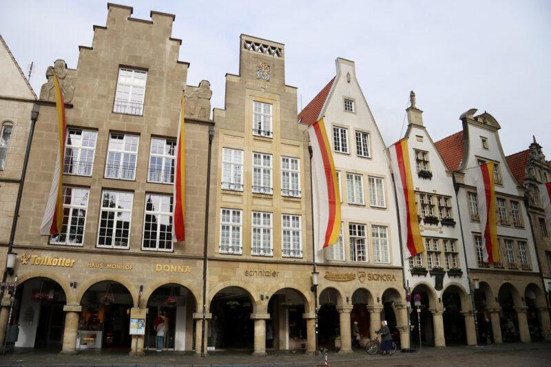 Weekendje weg Münster - Huizen in de Altstadt