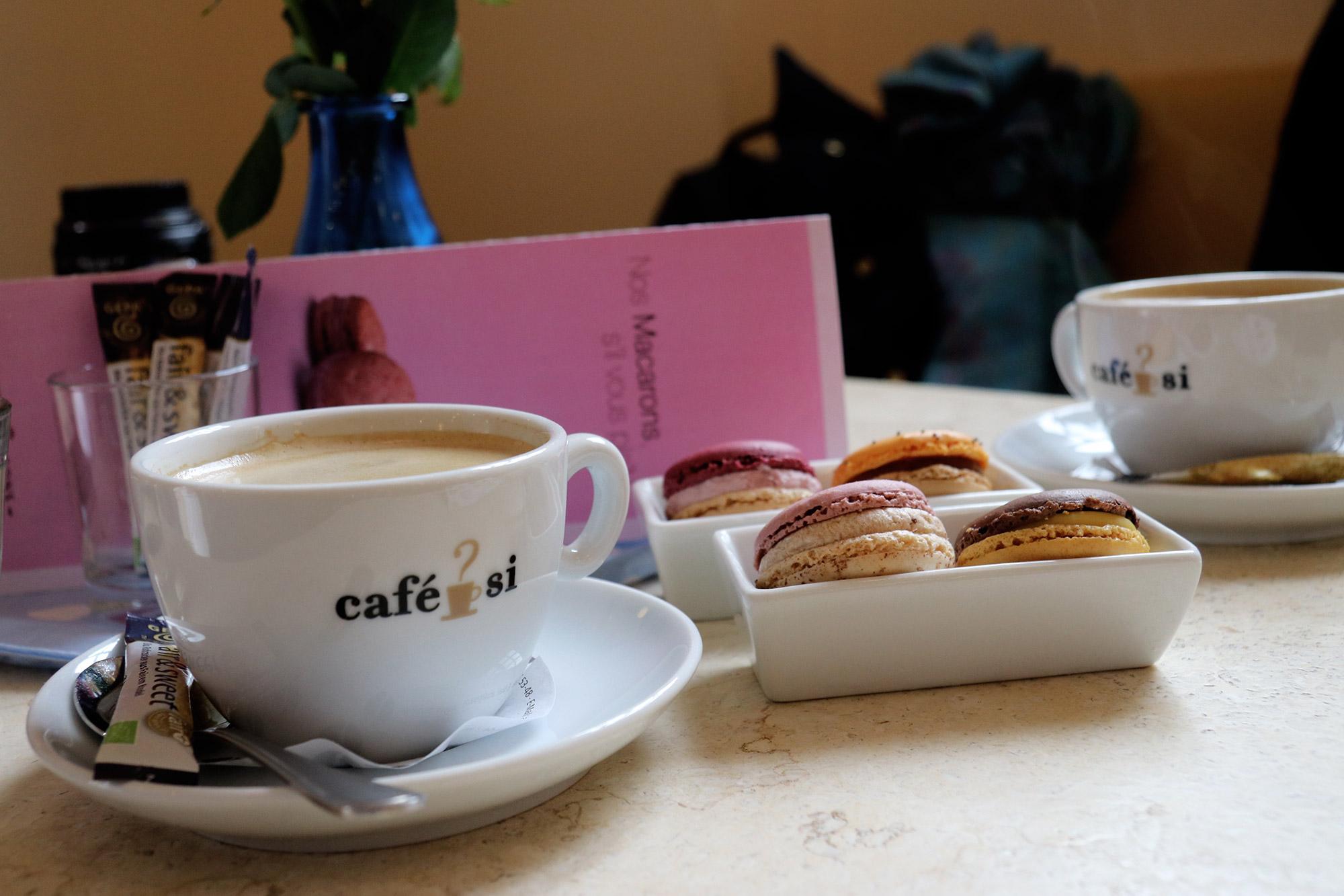 Weekendje weg Münster - Koffietijd bij Aux Macarons