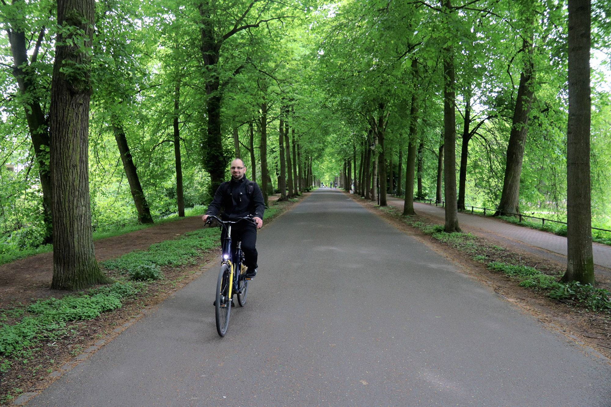 Weekendje weg Münster - Fietsen over de Promenade