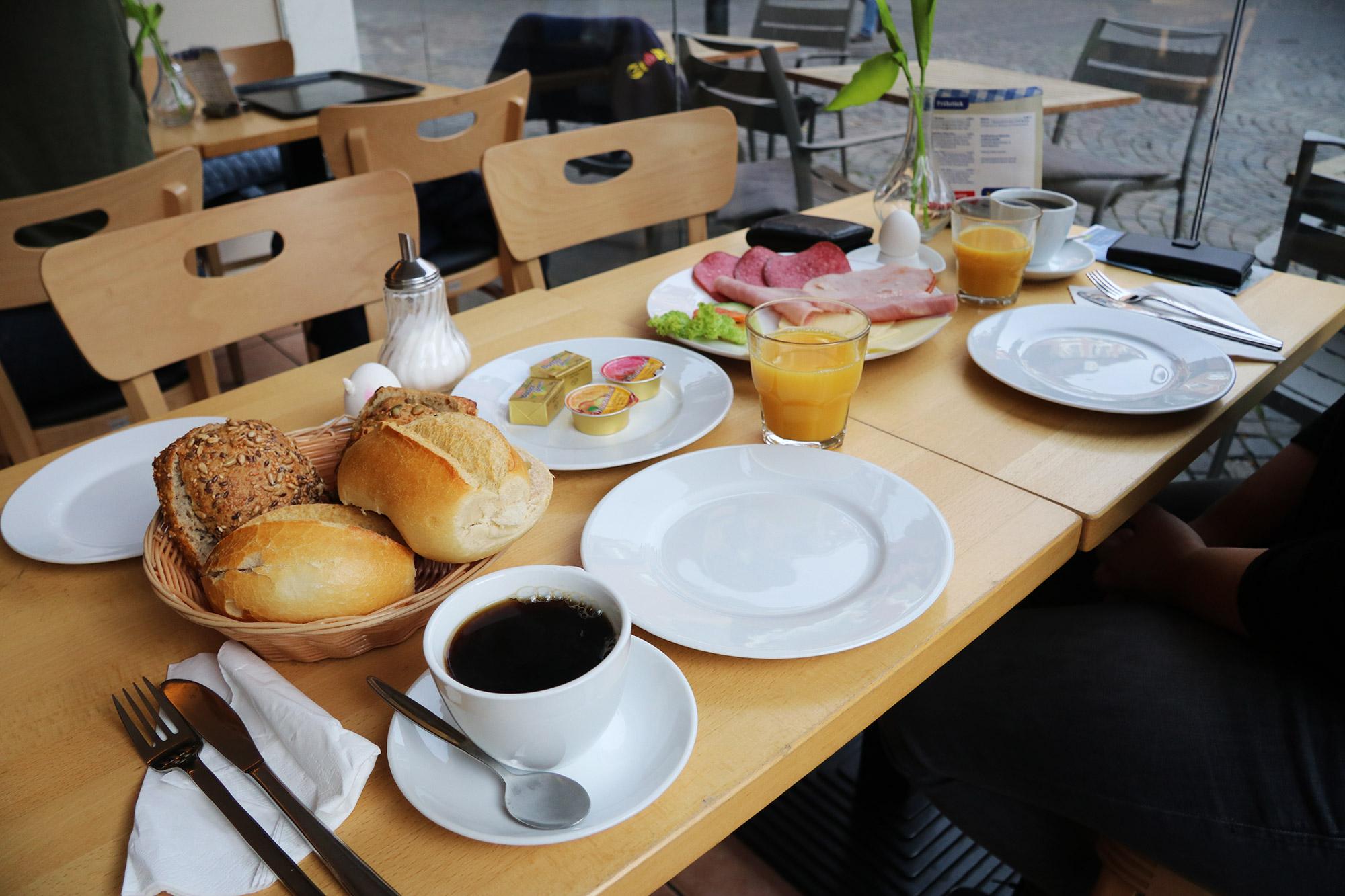 Weekendje weg Münster - Frühstück bij een bakker