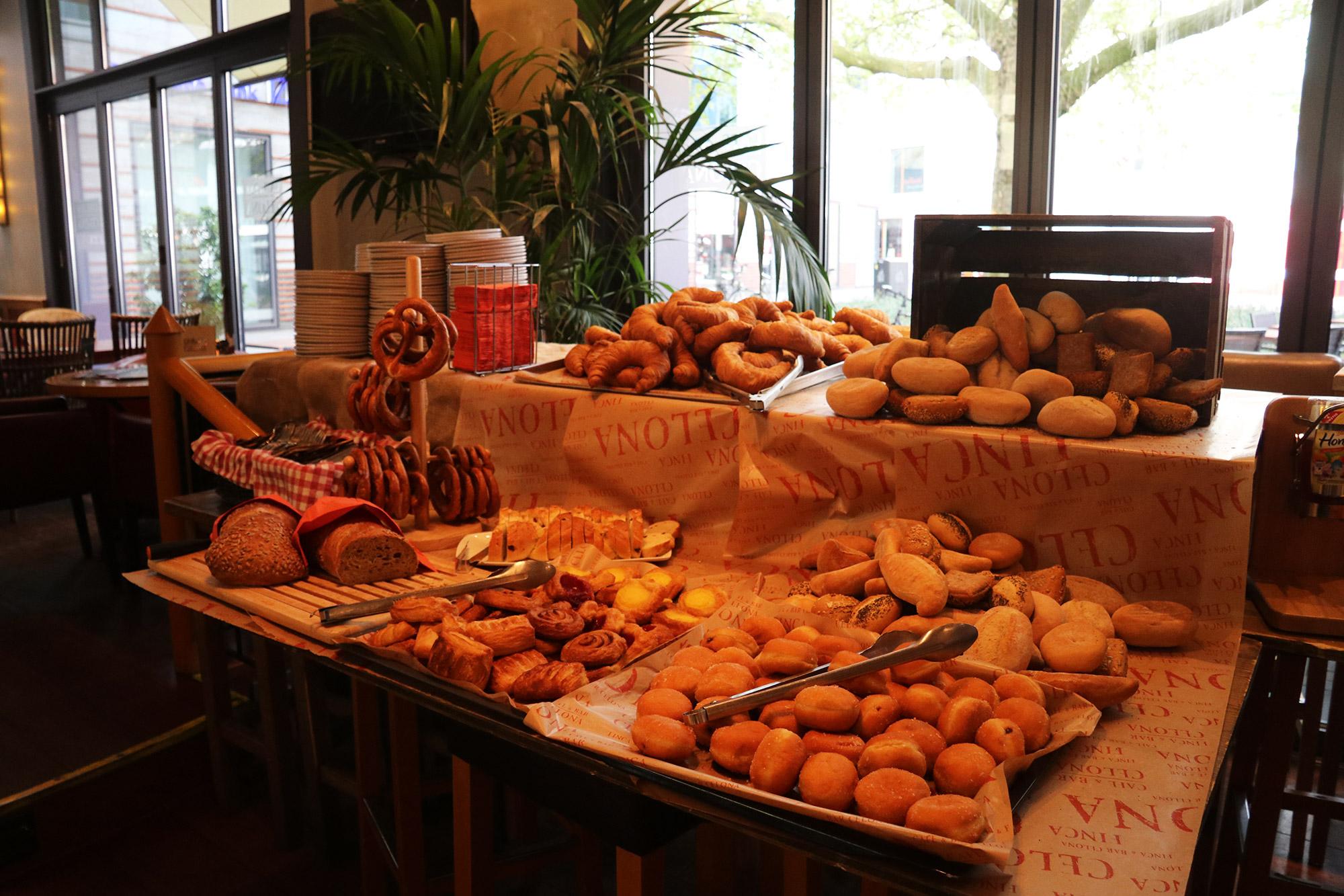 Weekendje weg Münster - Ontbijt bij Bar Celona