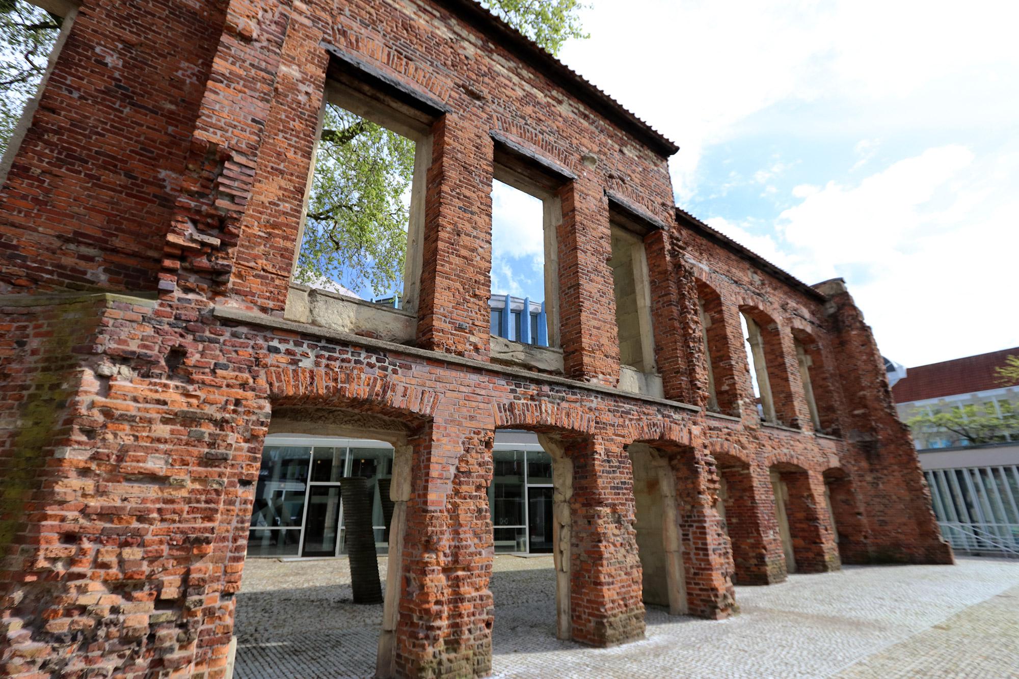 Weekendje weg Münster - Ruïnes van het oude theater