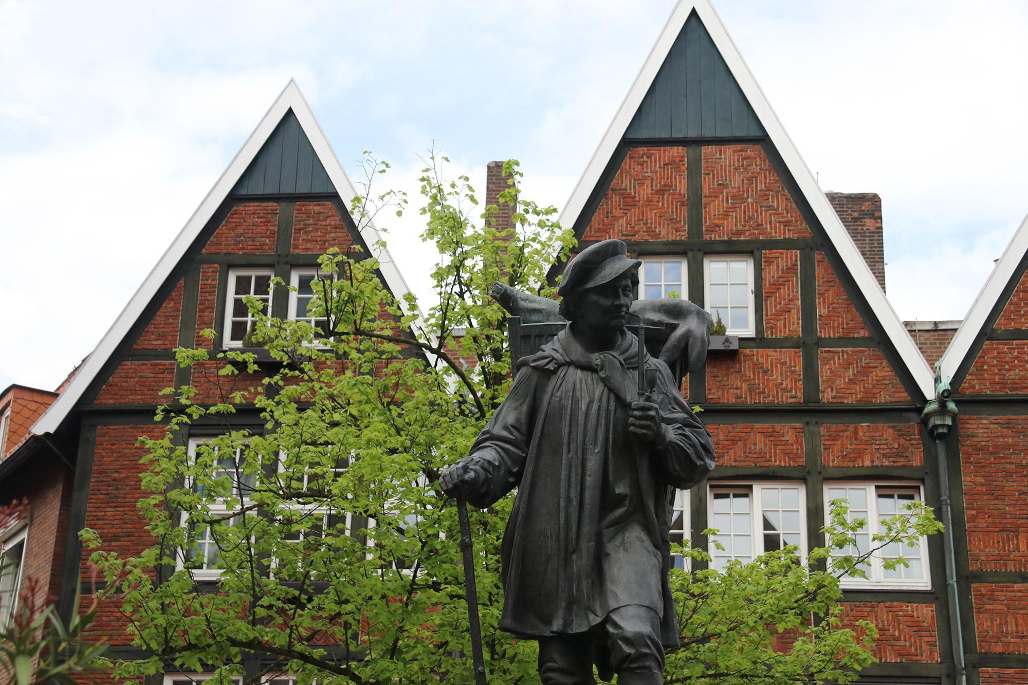 Weekendje weg Münster - Standbeeld van Kiepenkerl