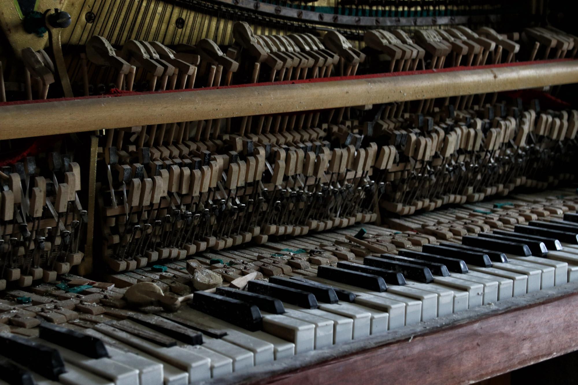 Tsjernobyl - Chernobyl 2 - Piano