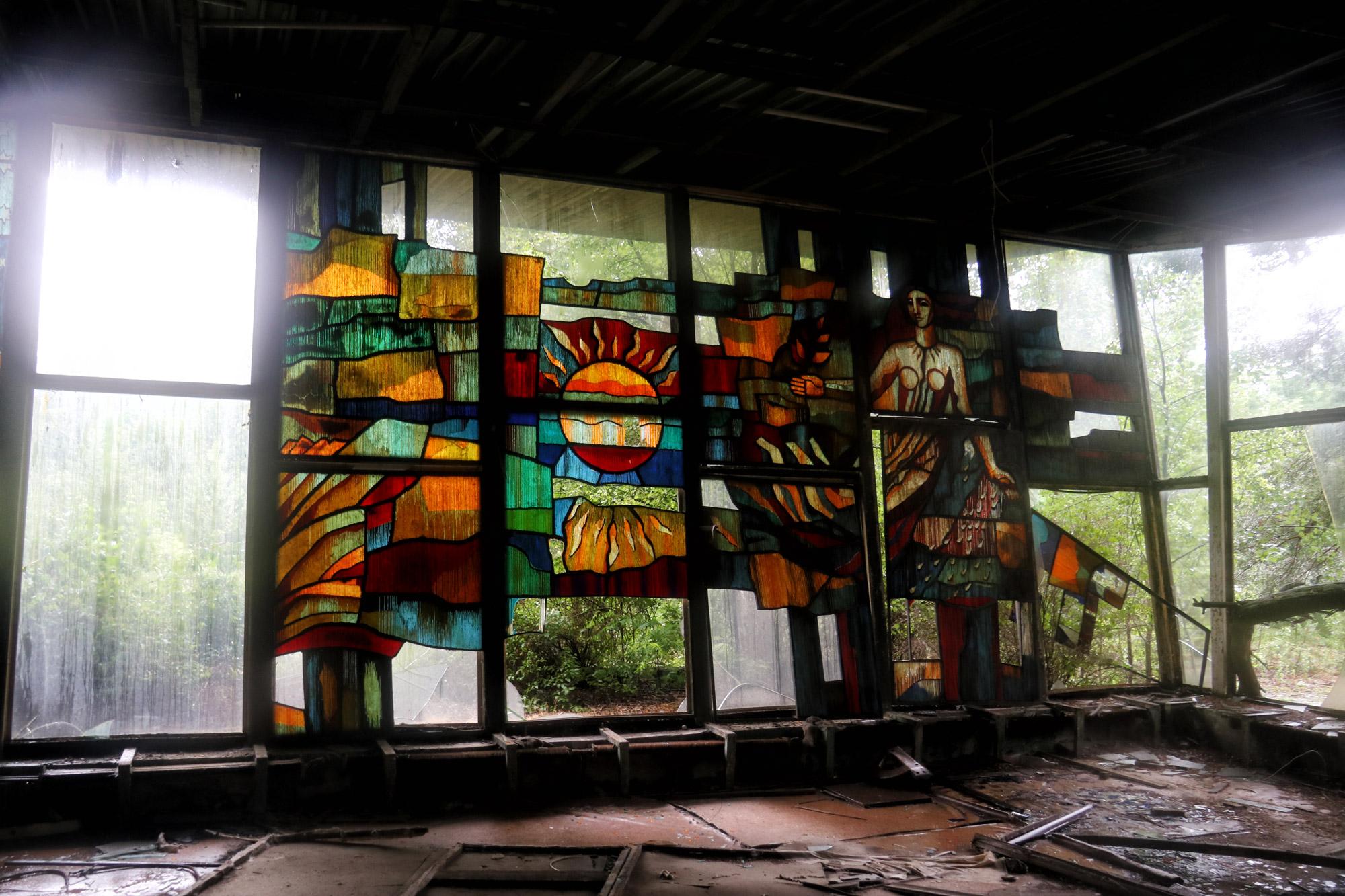 Tsjernobyl - Pripjat - Café