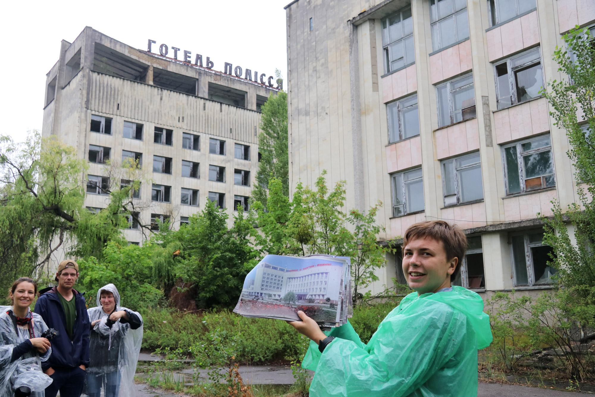 Tsjernobyl - Pripjat - Hotel
