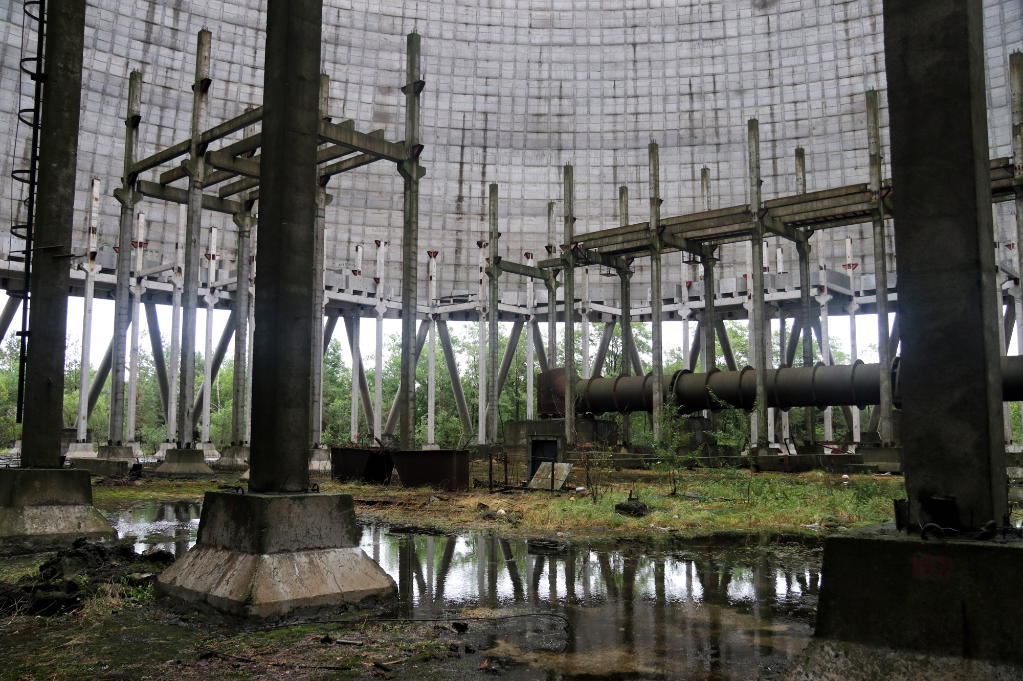 Tsjernobyl - Pripjat - Koelcentrale