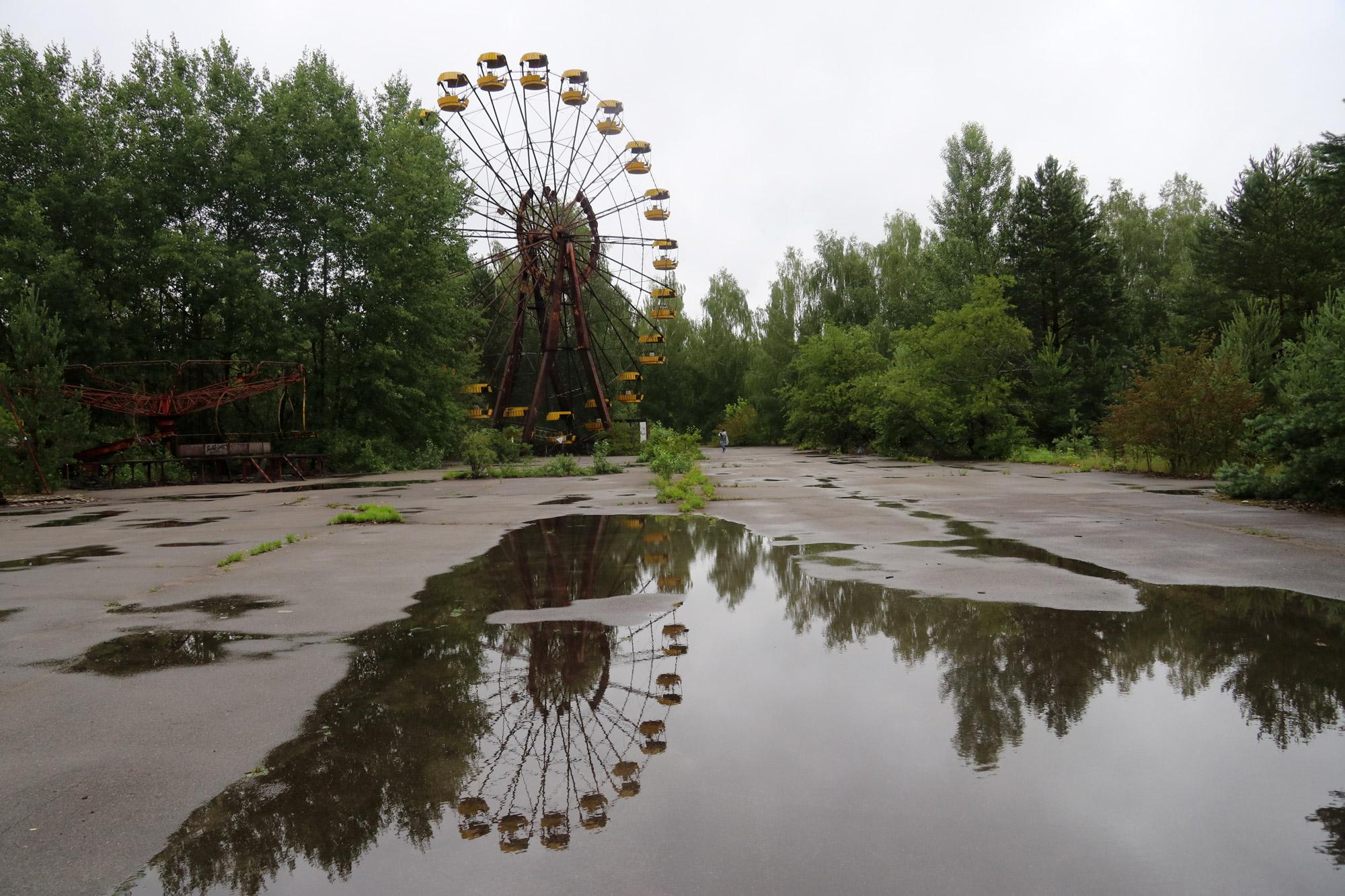 Tsjernobyl - Pripjat - Pretpark