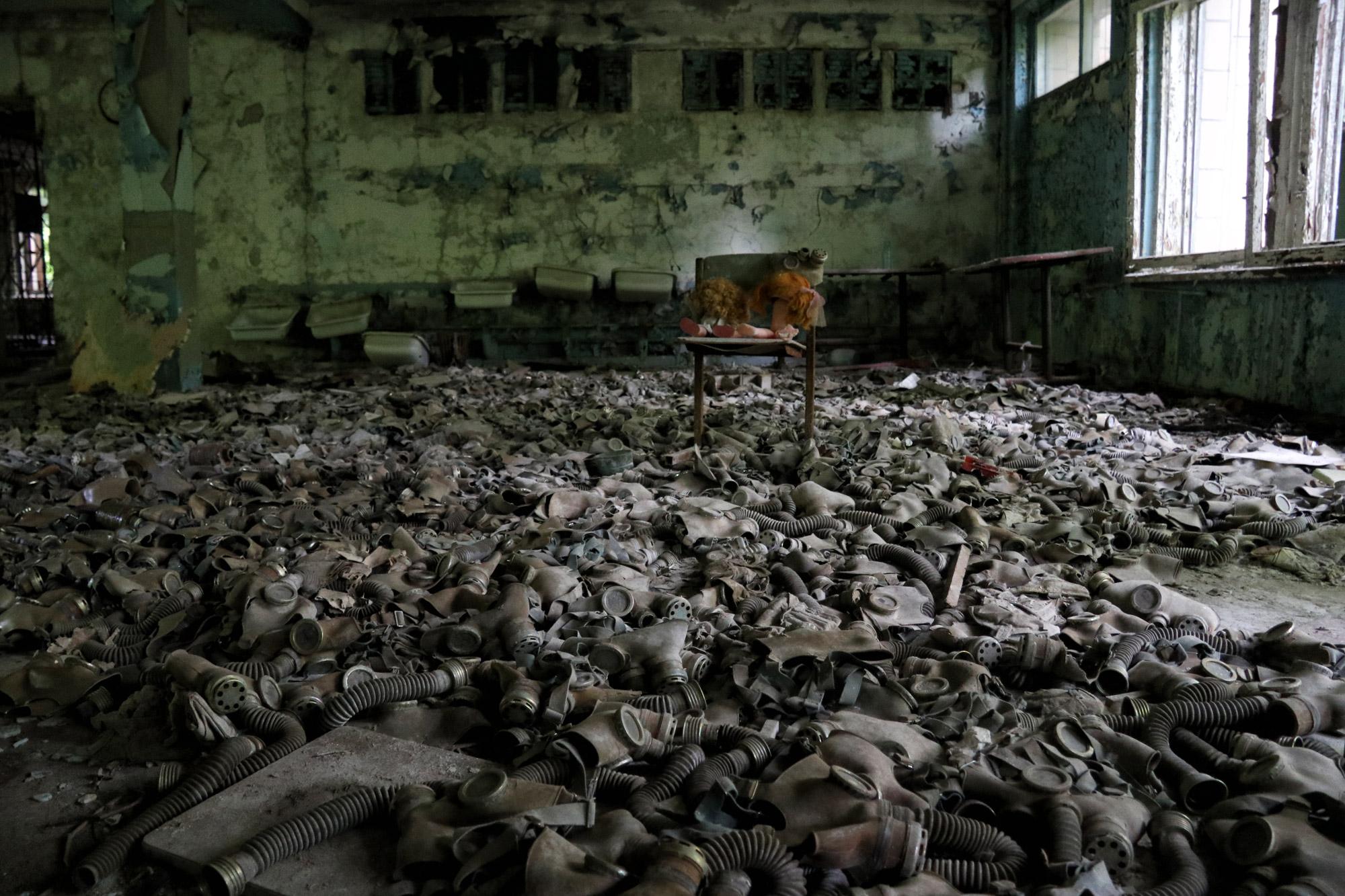Tsjernobyl - Pripjat - School