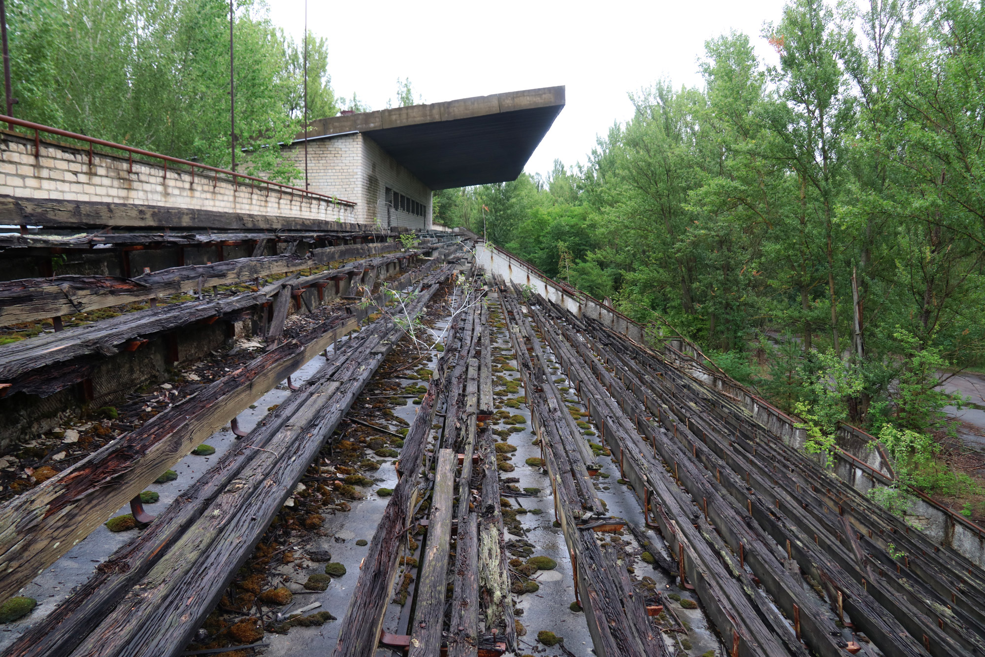 Tsjernobyl - Pripjat - Stadion