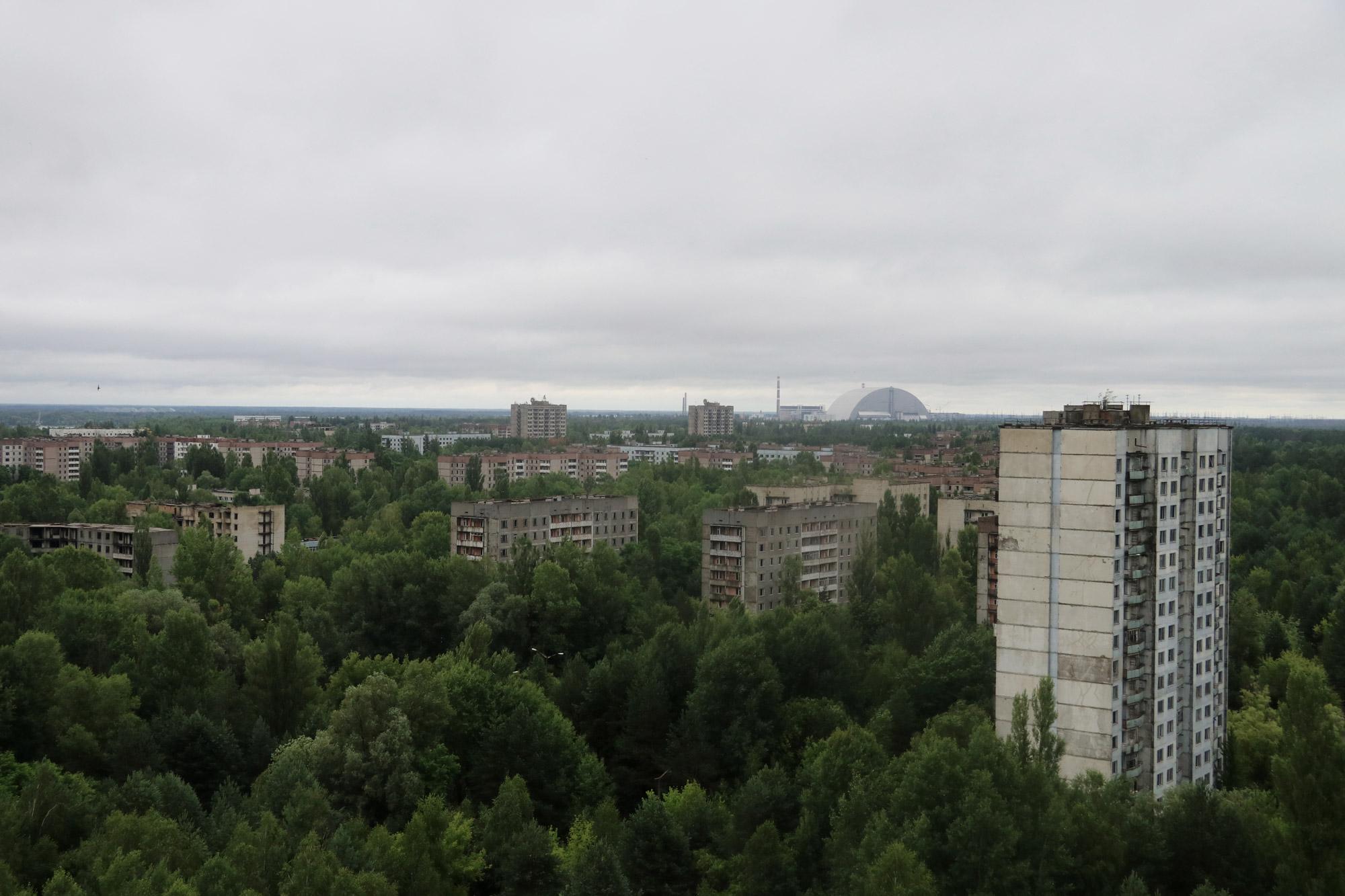 Tsjernobyl - Pripjat - Uitzicht