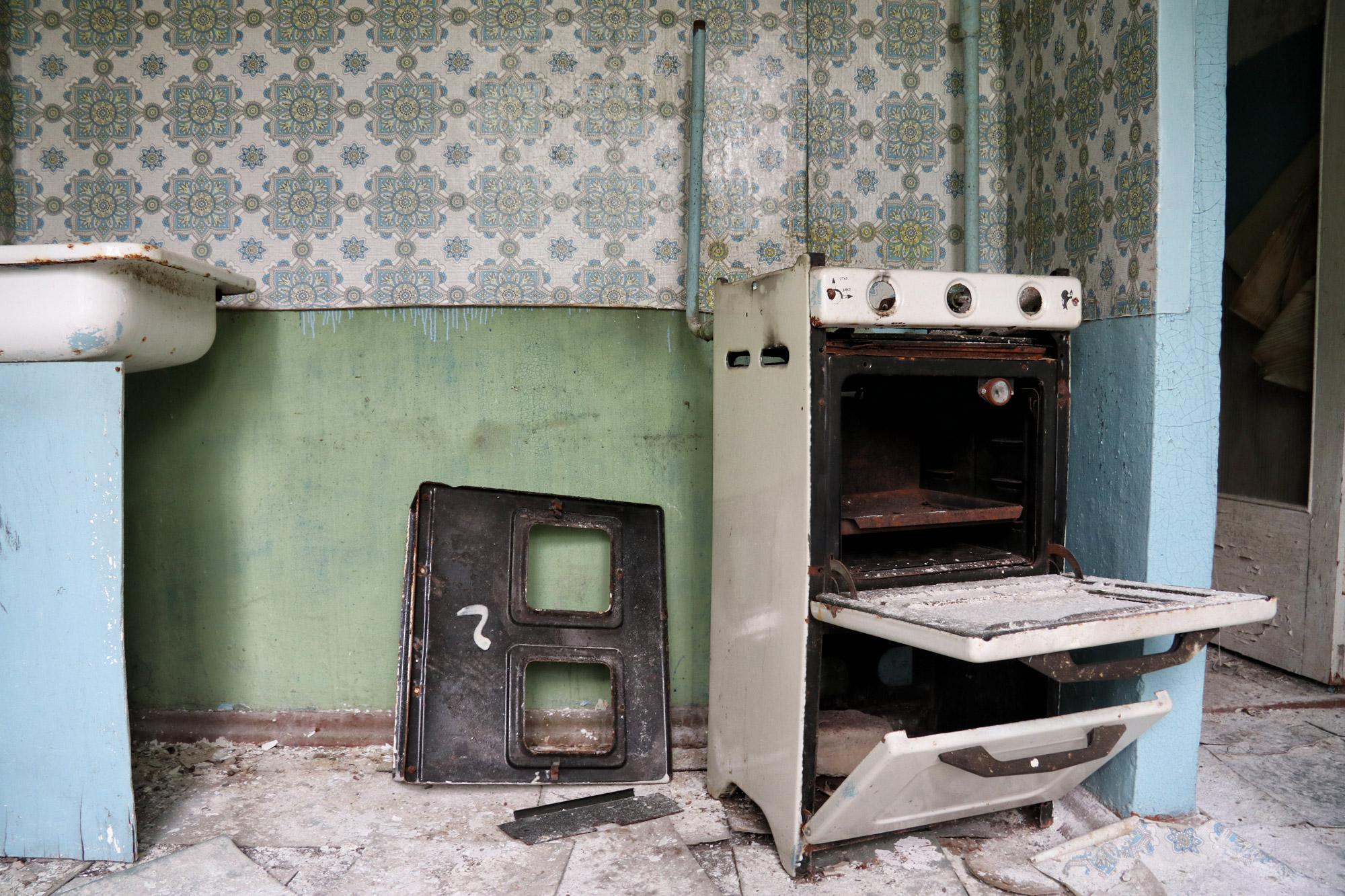 Tsjernobyl - Pripjat - Woning