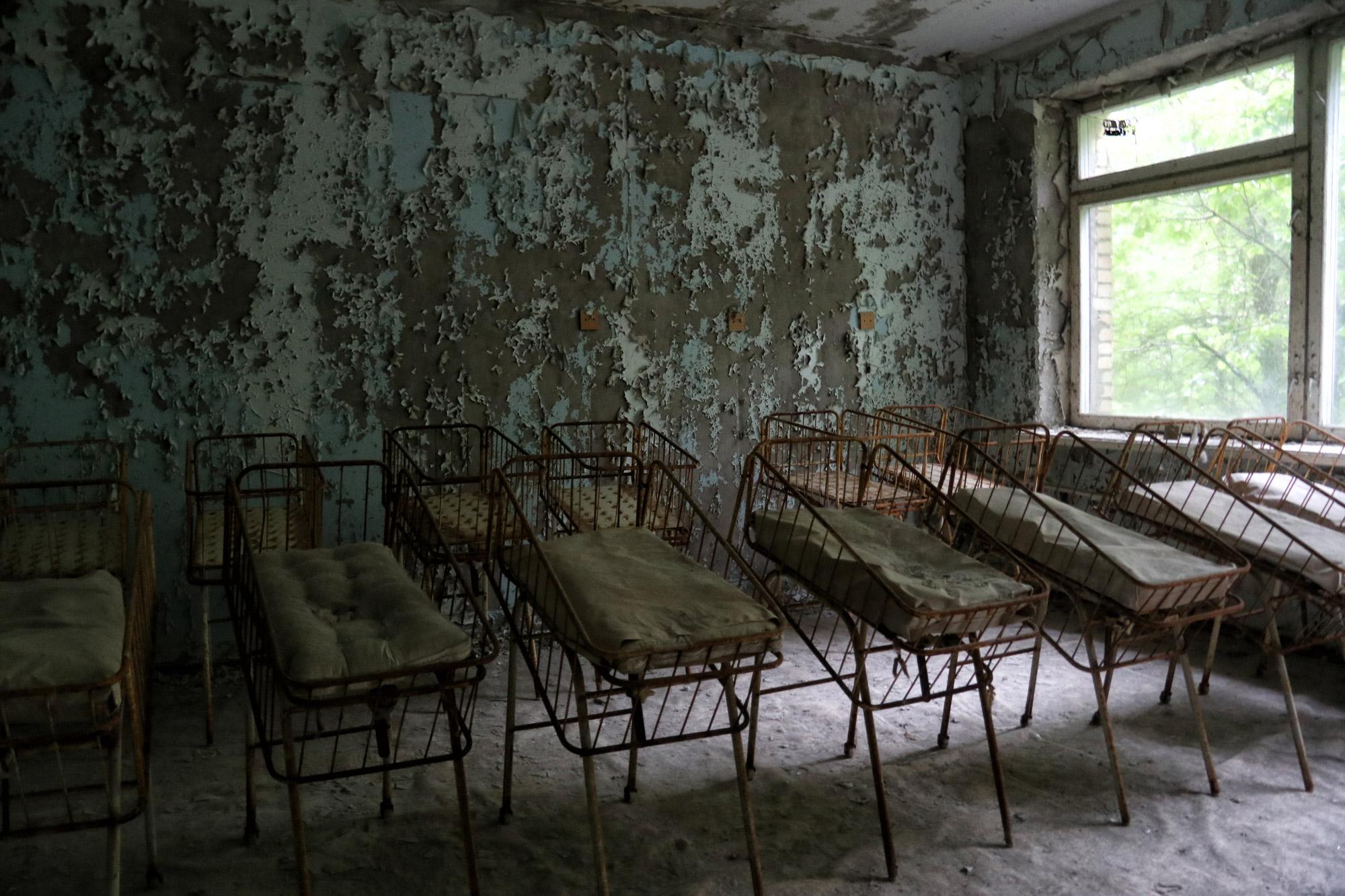 Tsjernobyl - Pripjat - Ziekenhuis
