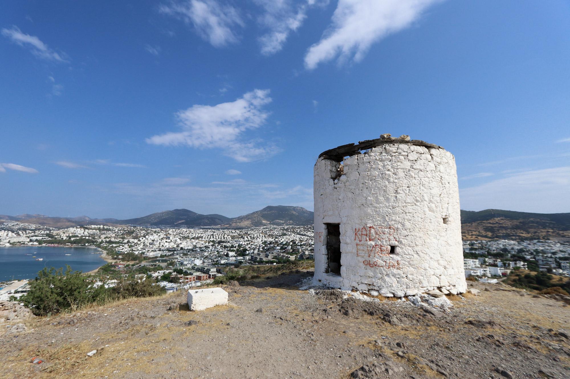 10x doen in Bodrum - Bezoek de oude Griekse windmolens