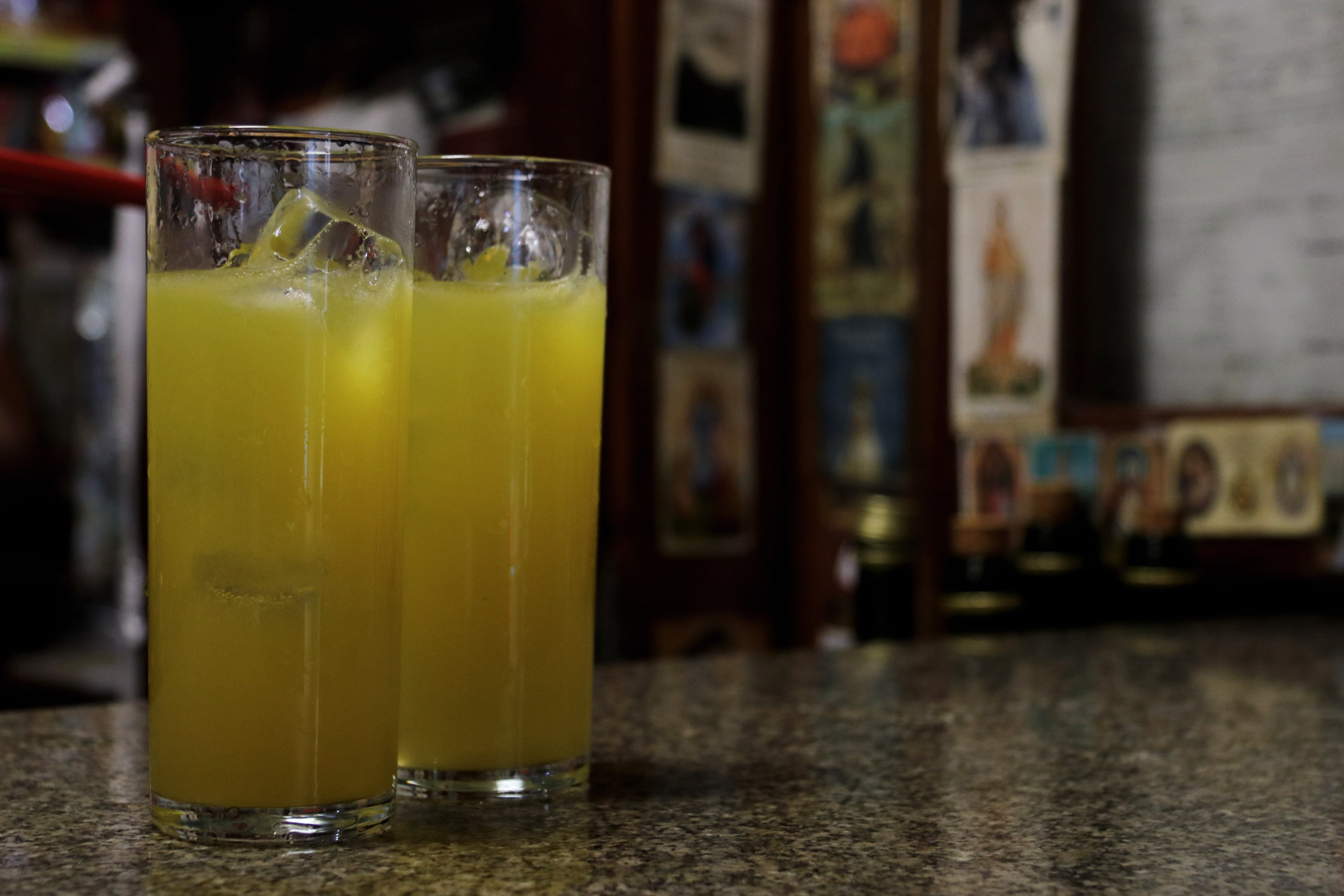 10x doen op Madeira - drink poncha