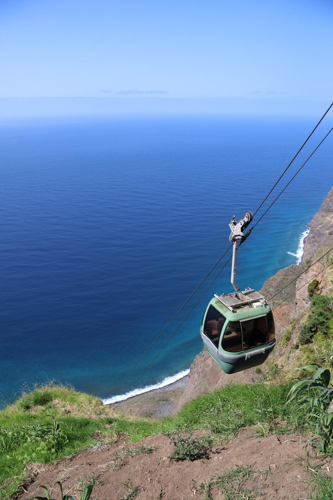 10x doen op Madeira - neem een kabelbaan